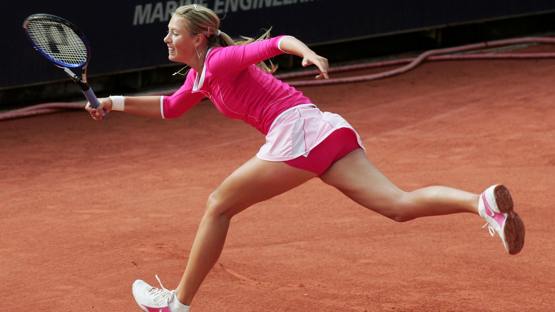 Обои ракетка, Мария шарапова, мяч. Спорт foto 8