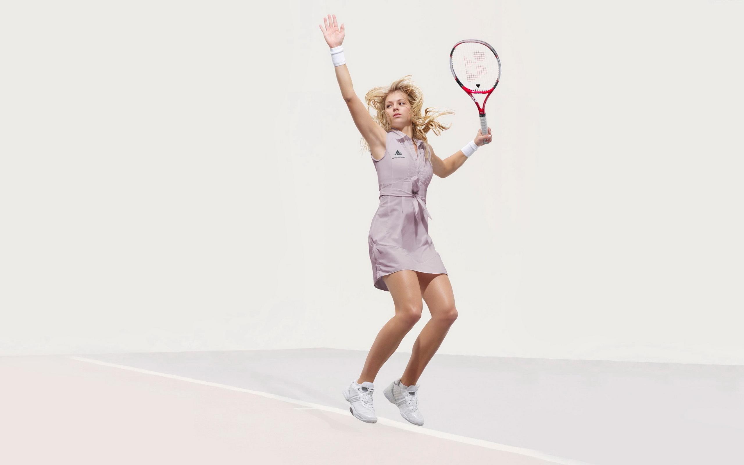 Wallpaper Sports Blonde Arm Tennis Player Racquet Kirilenko 2560x1600 Wallpaperup 720339 Hd Wallpapers Wallhere