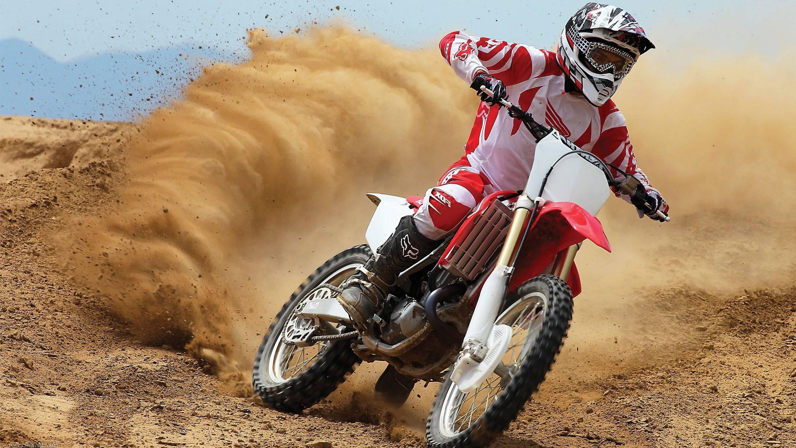 Sports Vehicle Honda Motocross Racing Cr Motorsport 2560x1440 Px Soil Extreme Sport Freestyle Dirt