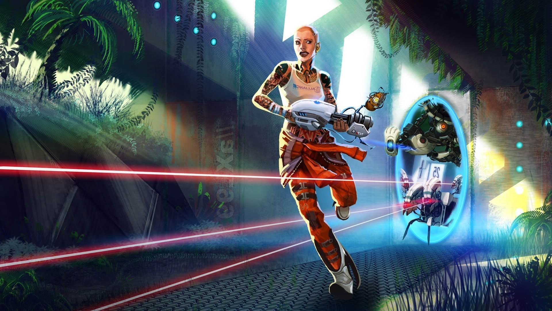Sports Video Games Night Vehicle Portal 2 Jack Mass Effect GLaDOS Aperture Laboratories Turrets Valve