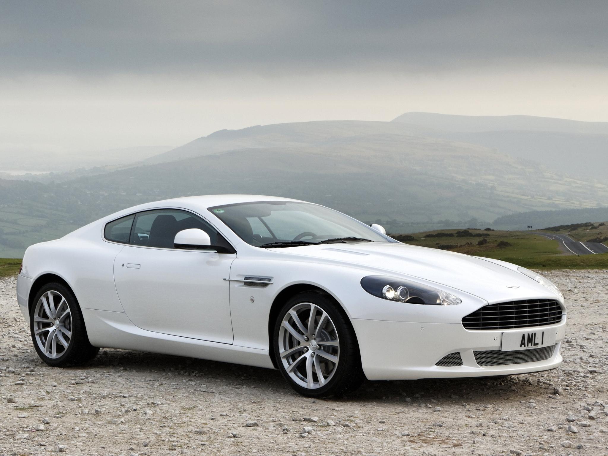 Wallpaper : White, Mountains, Nature, Side View, Sports Car, Aston Martin, Aston  Martin DBS, Coupe, Performance Car, 2010, Aston Martin DB9, Aston Martin ...