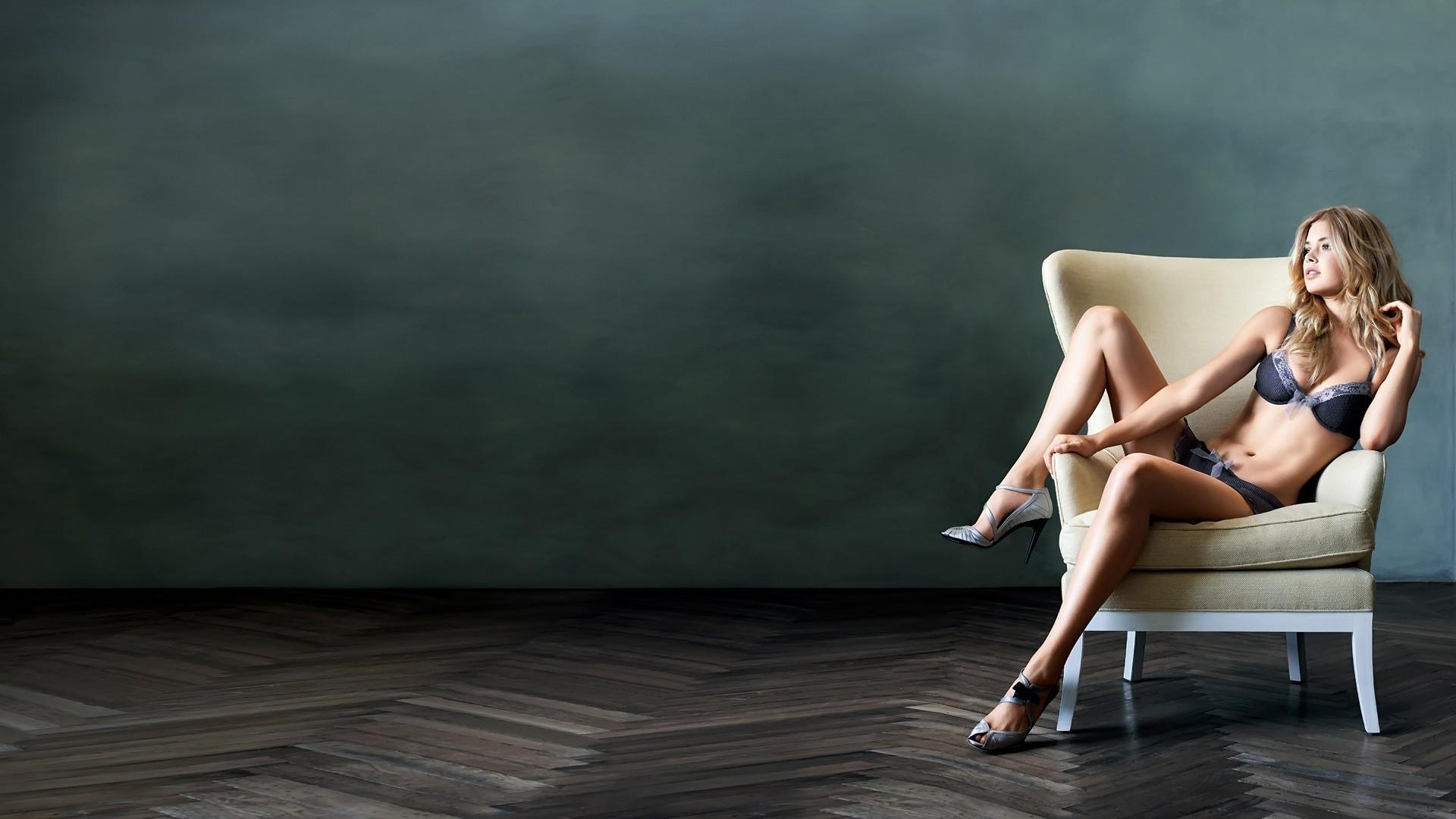 wallpaper : sports, women, blonde, sitting, photography, dress