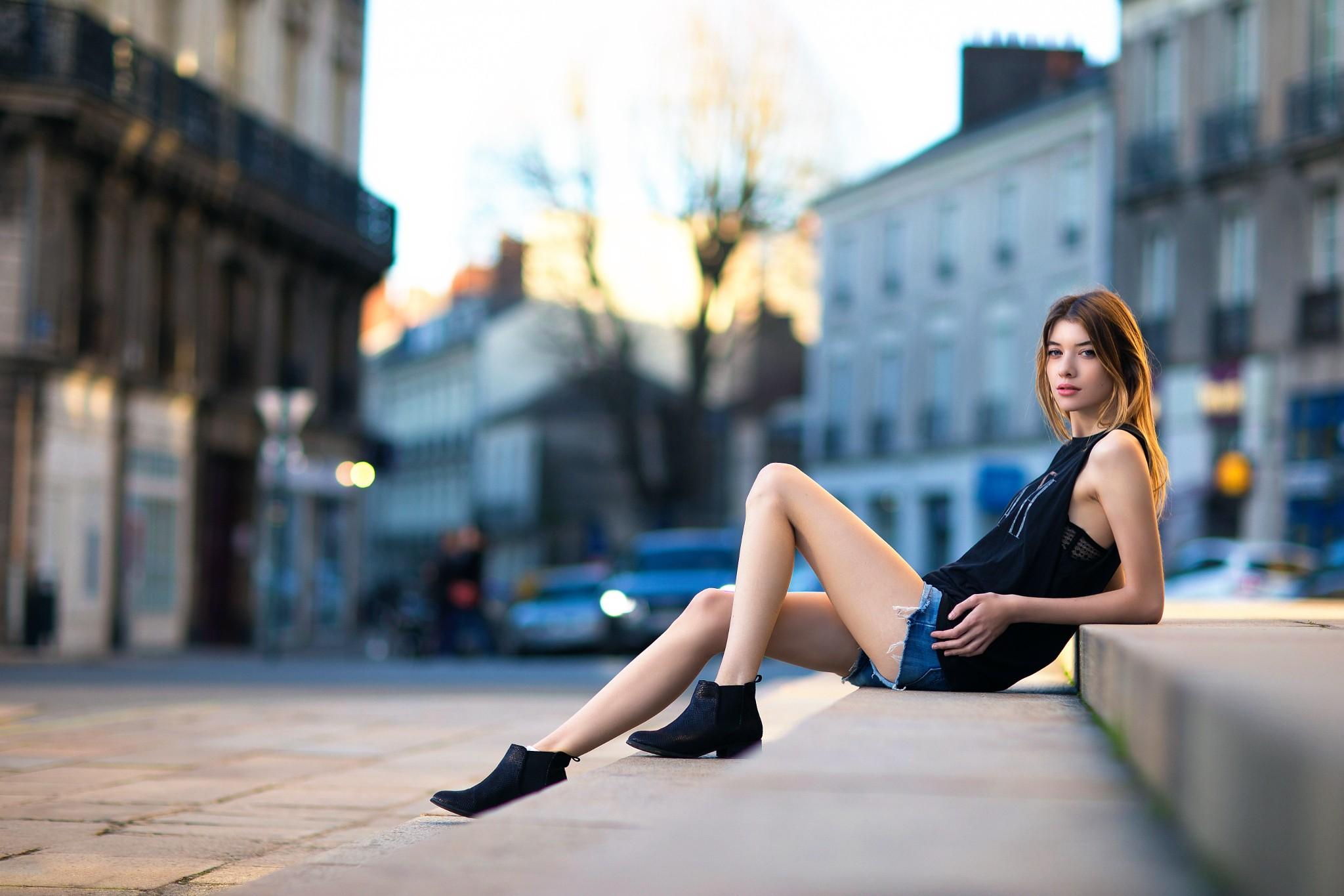 фото моделей на улицах время выступления