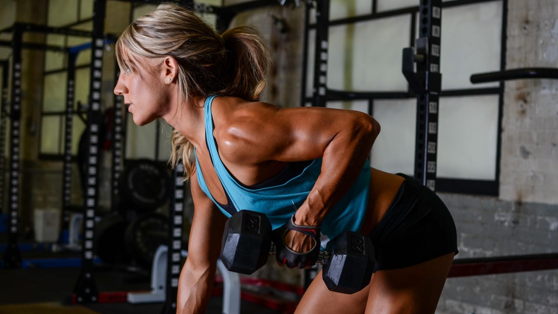 Wallpaper sports women room skinny gyms fitness