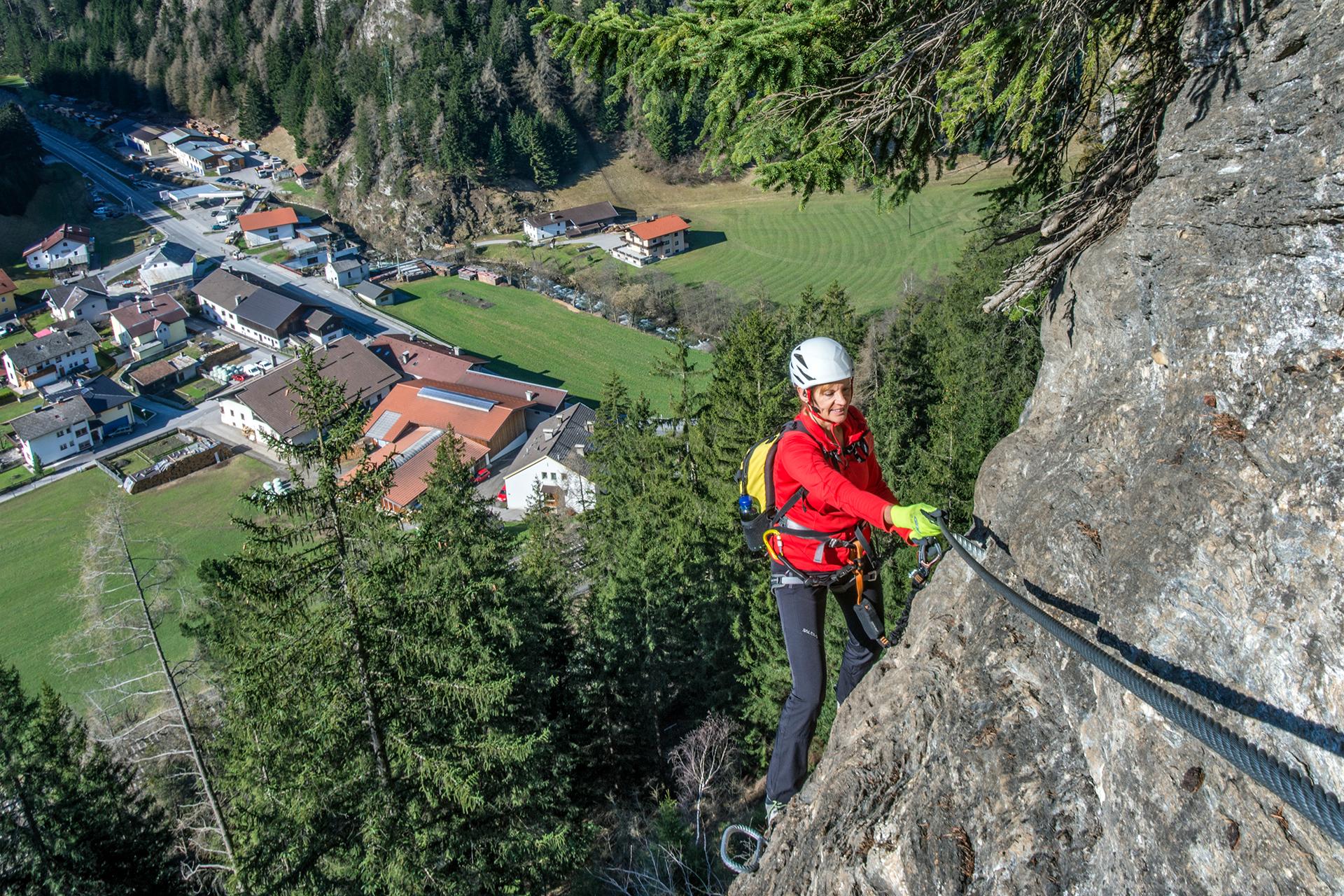 St Jodok Klettersteig : Hintergrundbilder stafflacherwand stjodok brenner bergfex