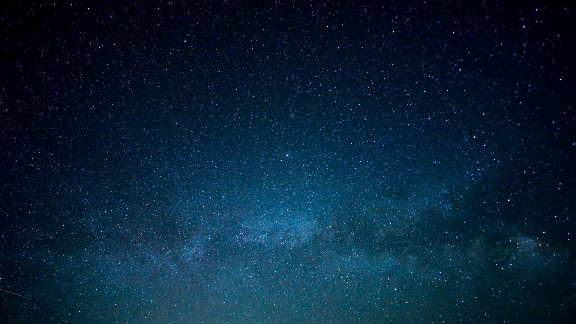 Wallpaper stars galaxy space blue 1920x1080 - Blue space galaxy wallpaper ...