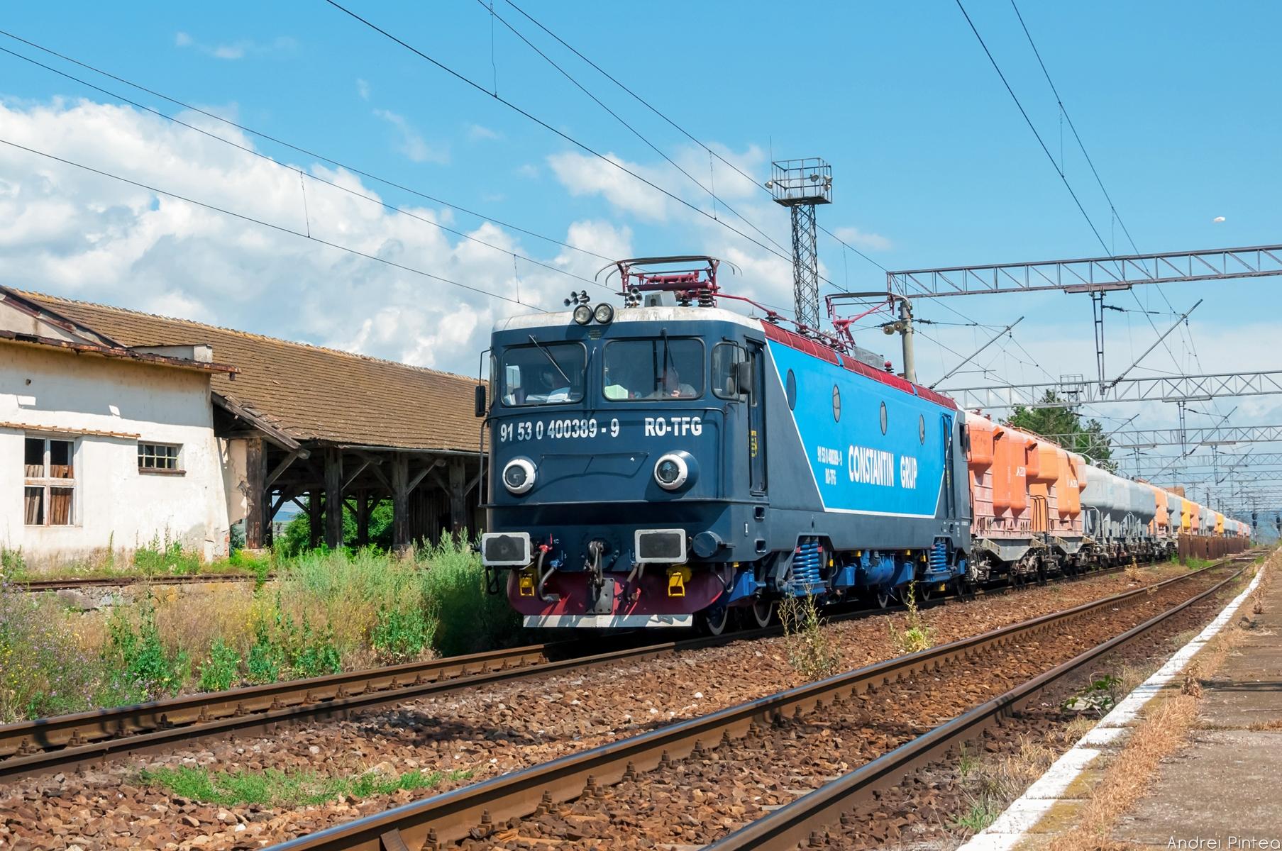 สถานี รถไฟ เอกชน tren 9 400 โรมาเนีย 40 trans การขนส่งสินค้า ผู้ประกอบการ  Marfa