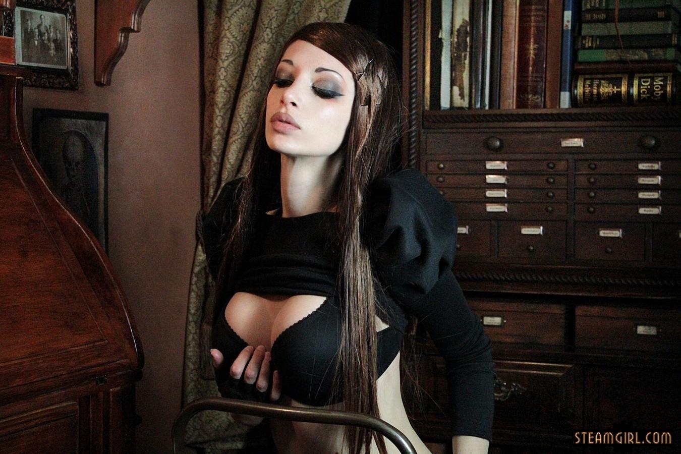Wallpaper steampunk steam girl kato lambert darkness - Steamgirl download ...
