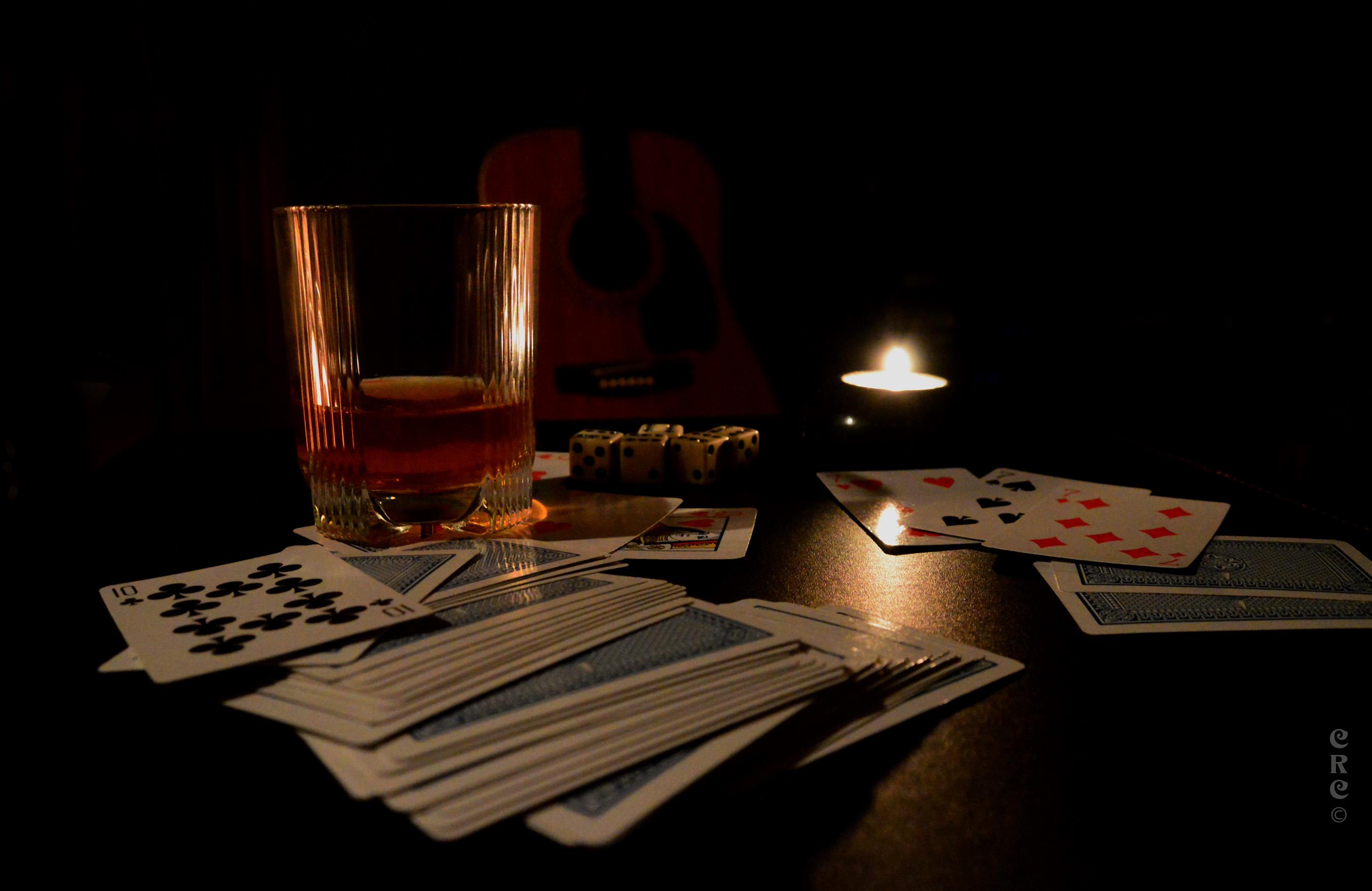 Top Papel de parede : Vida de stilllife, criativo, baralho de cartas  AX84