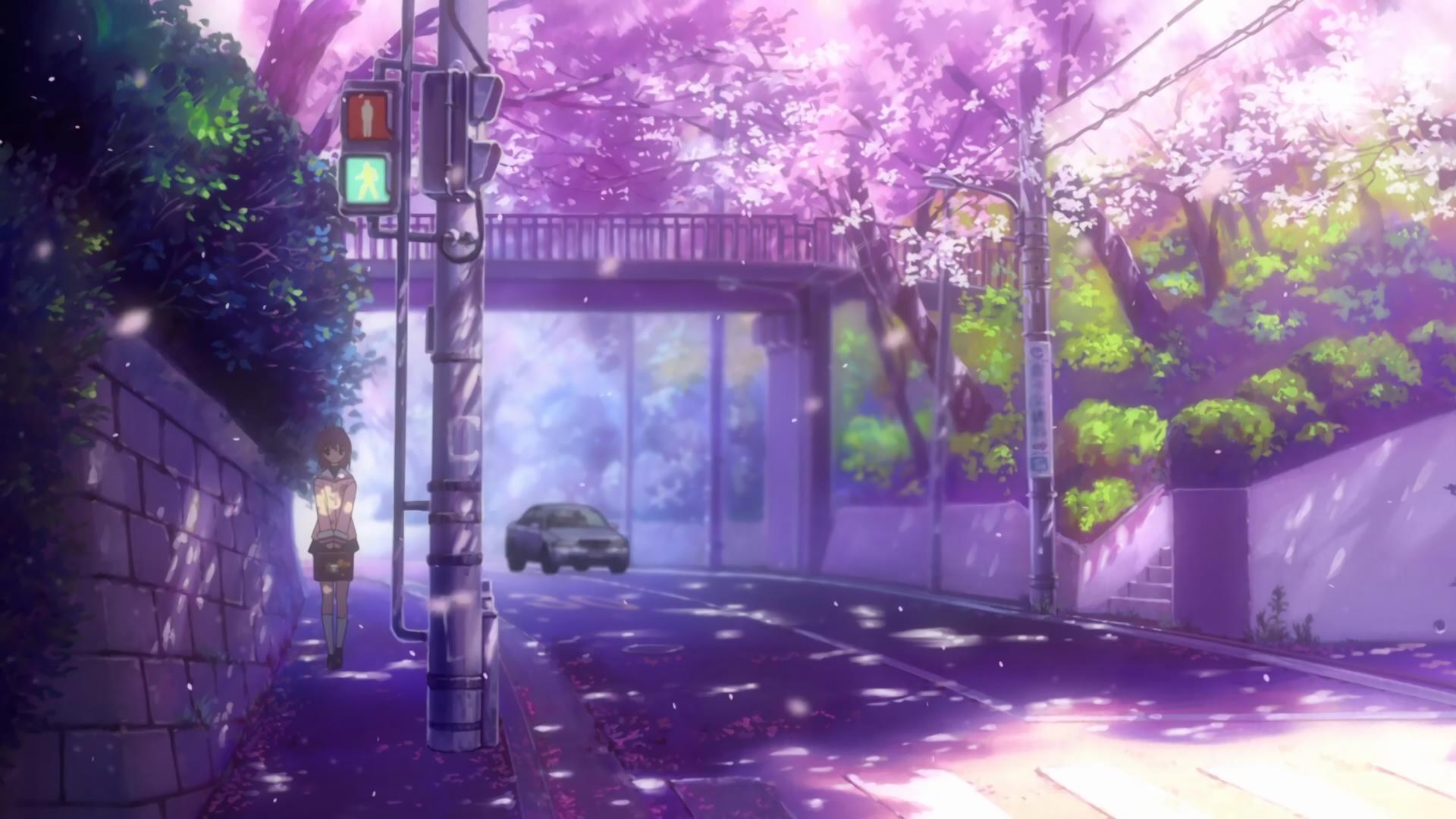 Wallpaper Street Clannad Nagisa Furukawa Screenshot 1920x1080