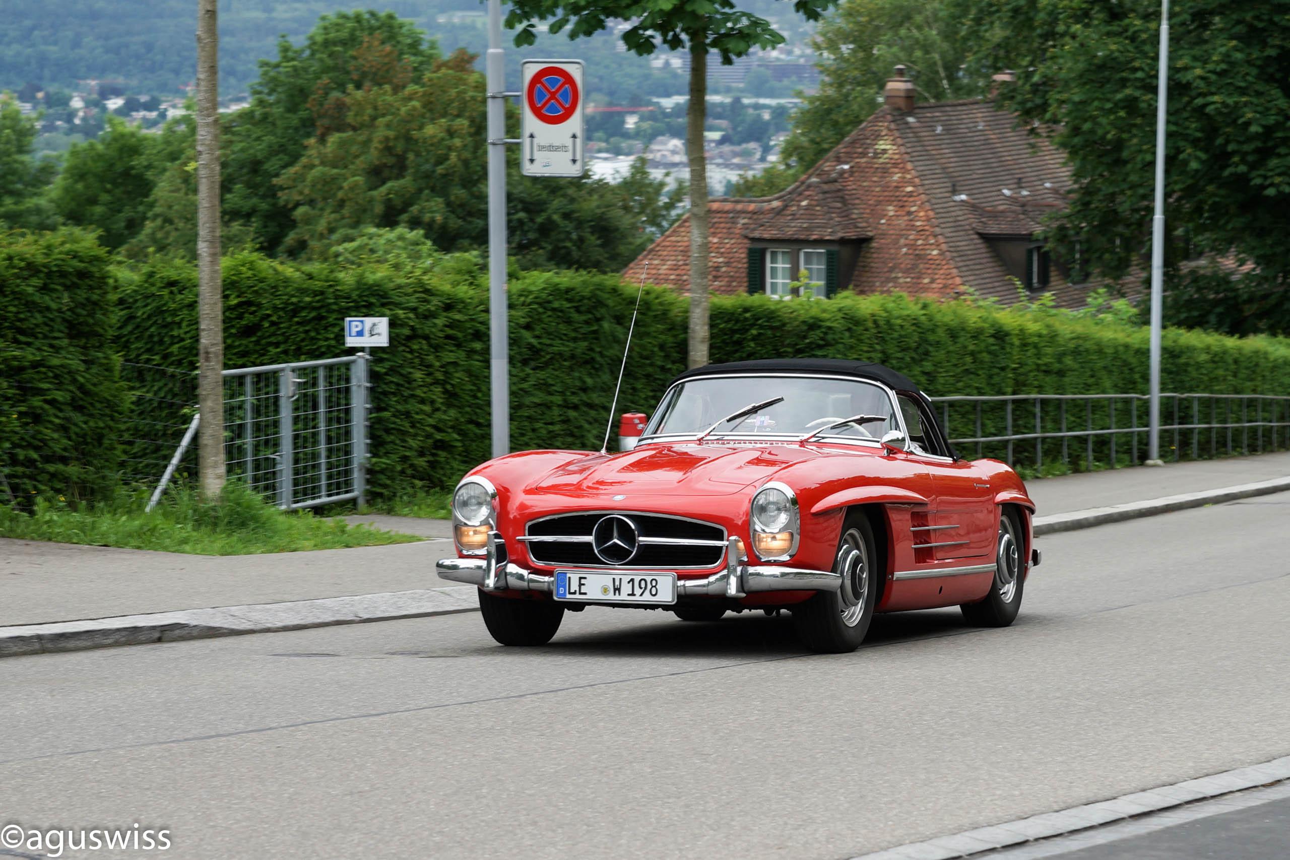 Wallpaper Street Road Mercedes Benz Sports Car Roadster - Sports cars 394