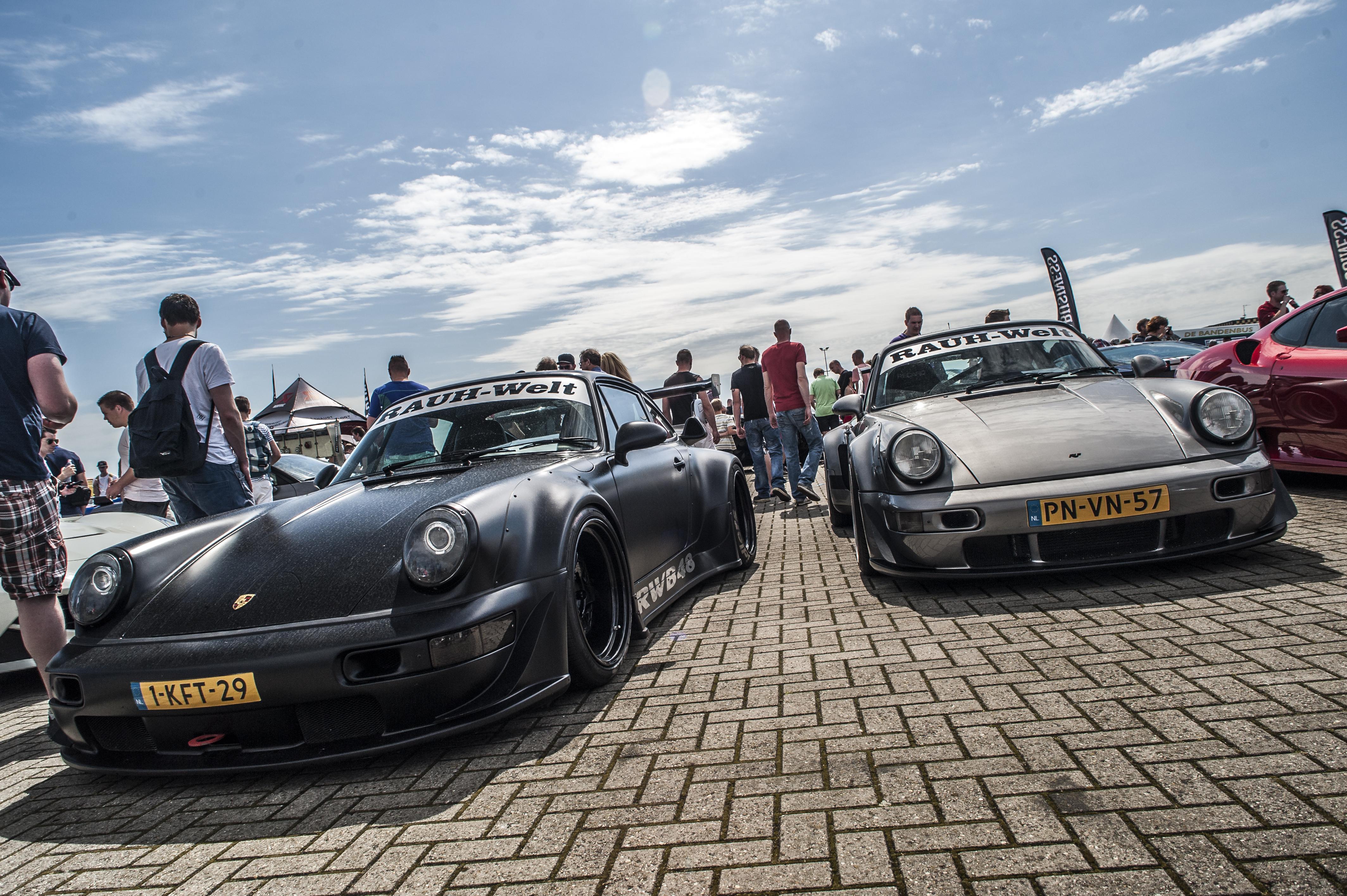 Ongekend Wallpaper : street, road, technology, Netherlands, Nikon, Porsche EK-46