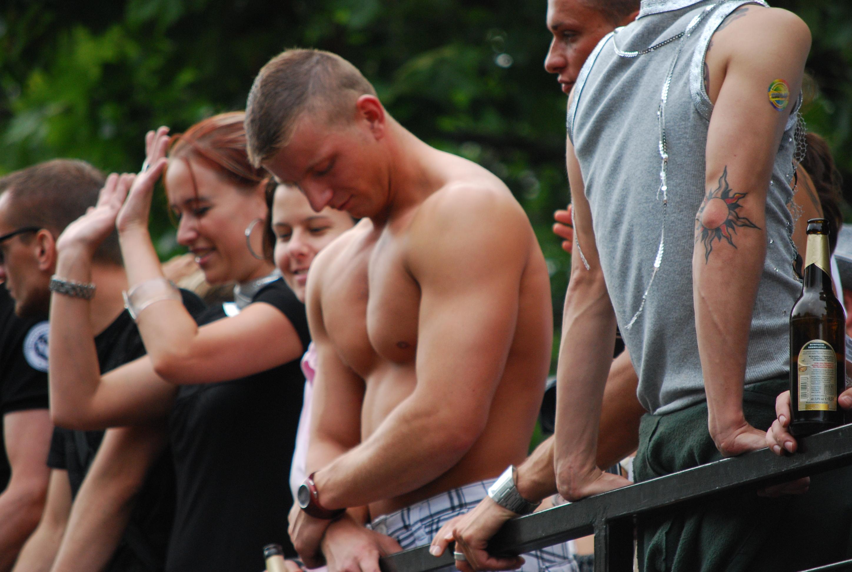 Nackte und sexy Männer
