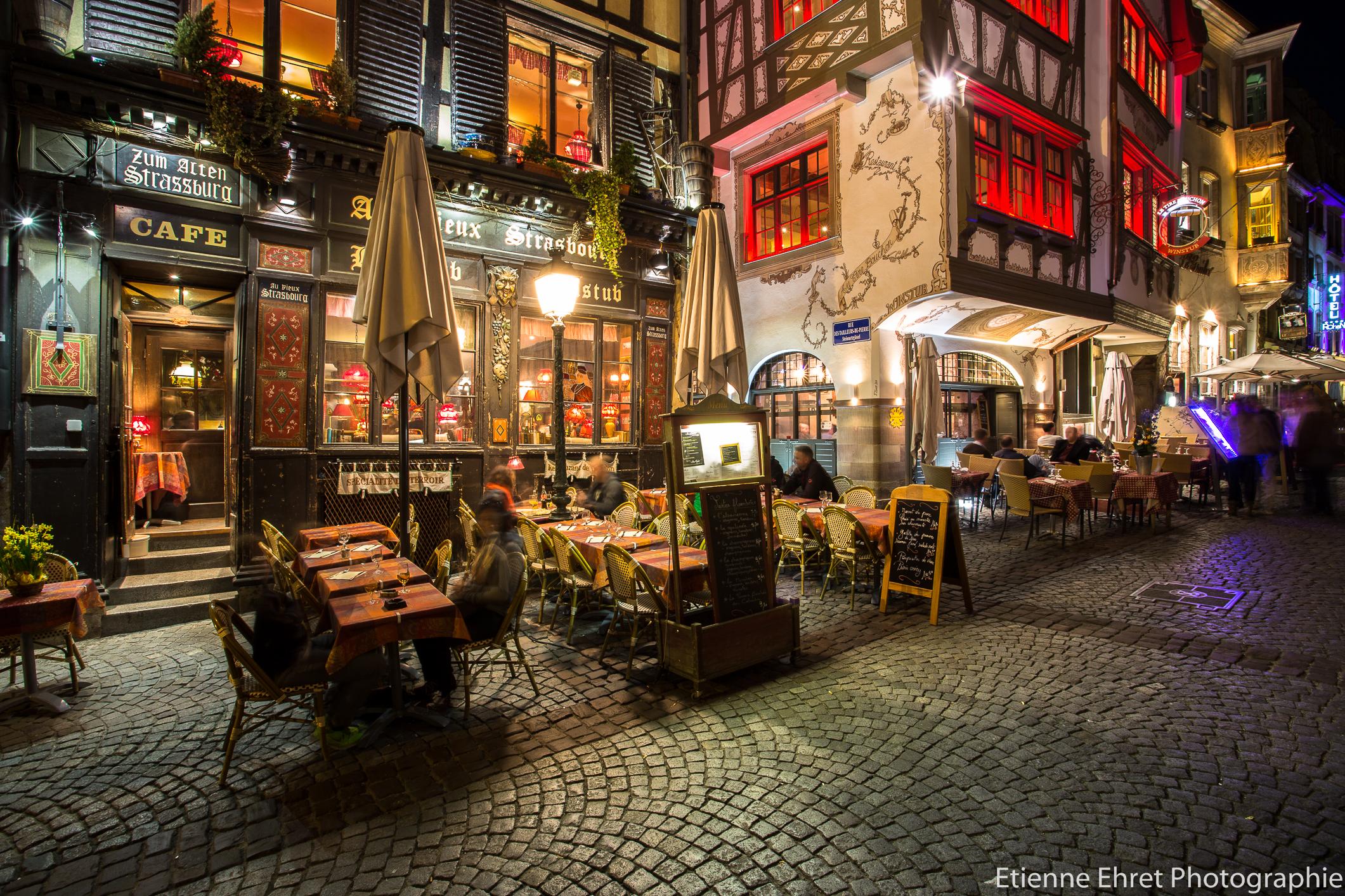 Baggrunde gade lys frankrig cafe nat canon m rke for 5d cafe