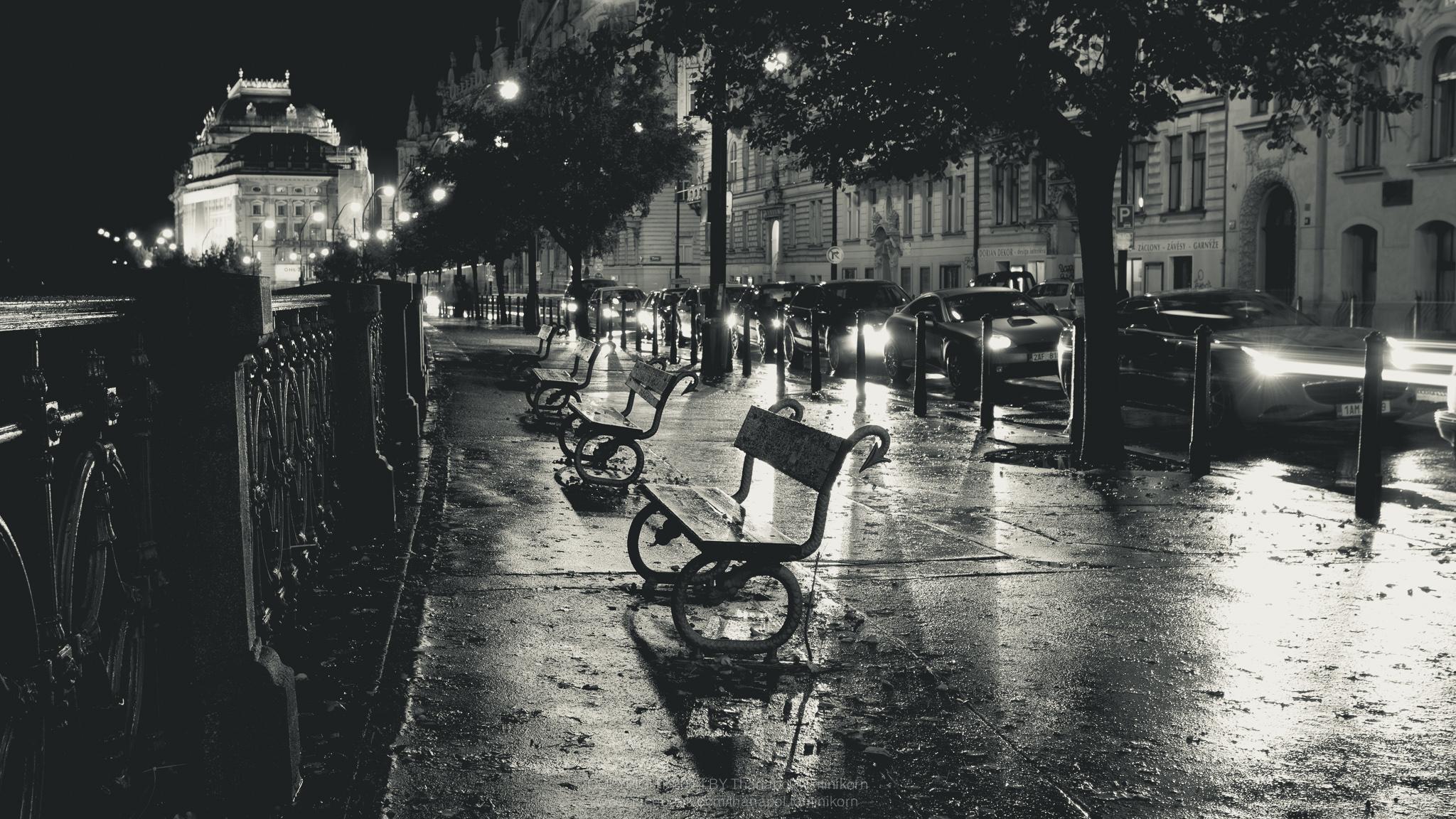 Обои дождь, чехия. Города foto 9
