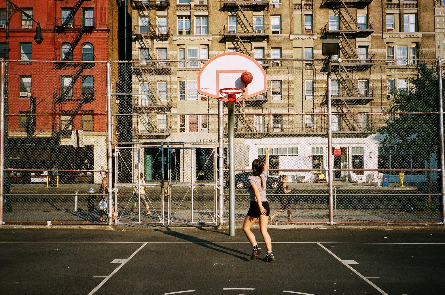 Wallpaper Street Nyc Basketball Court Manhattan