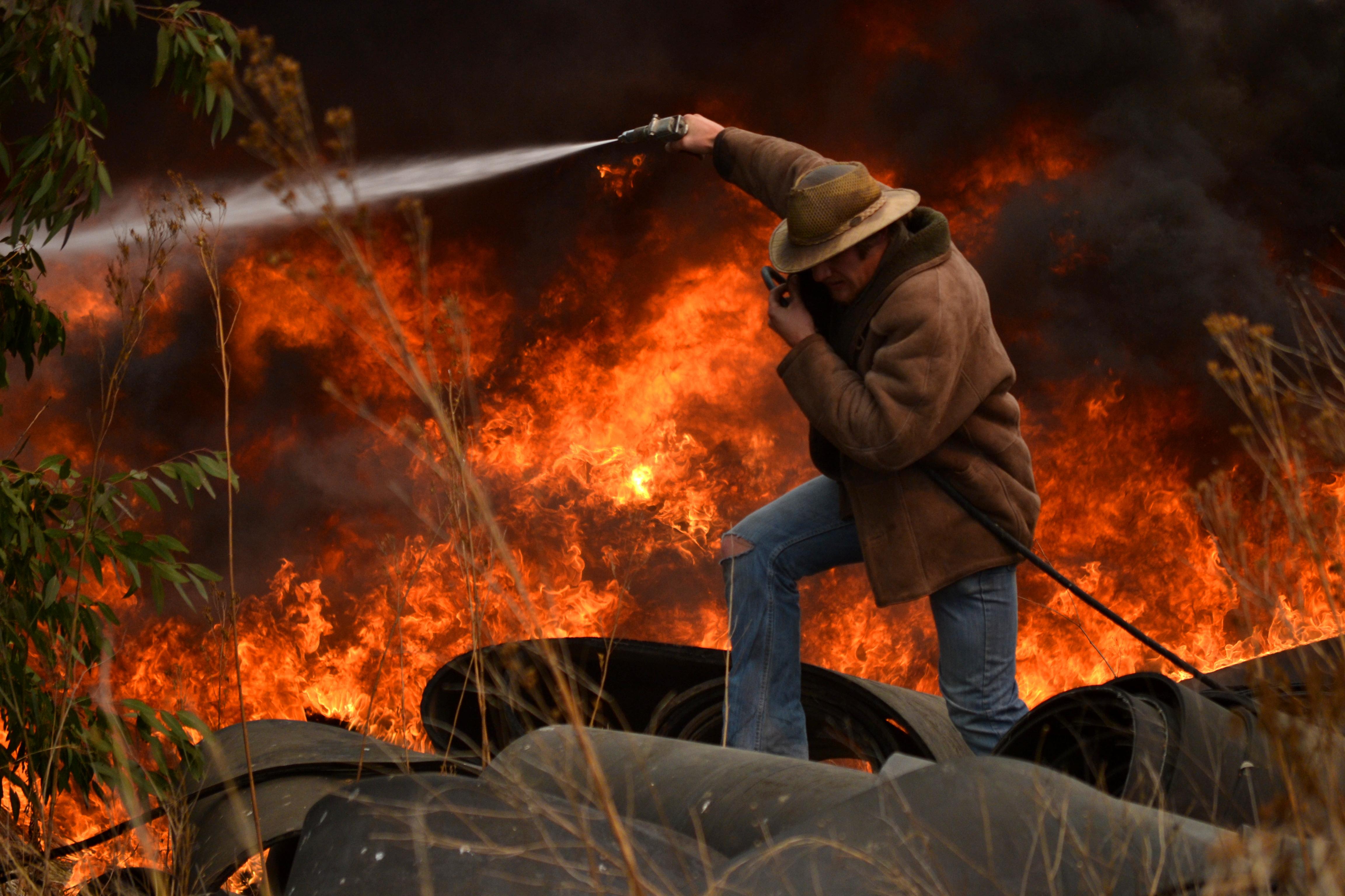 Wallpaper Jalan Afrika Selatan Api Keren Nikon Cool2