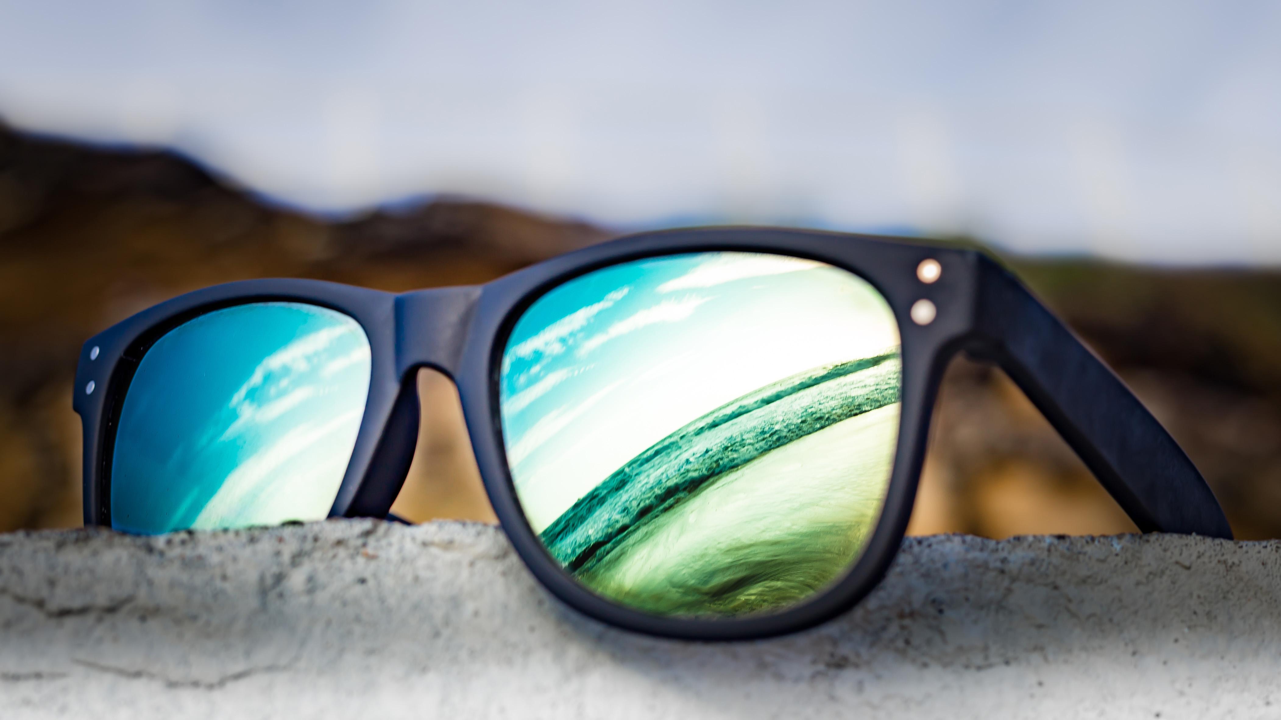 Wallpaper Summer Sun Holiday Reflection Beach Sunglasses