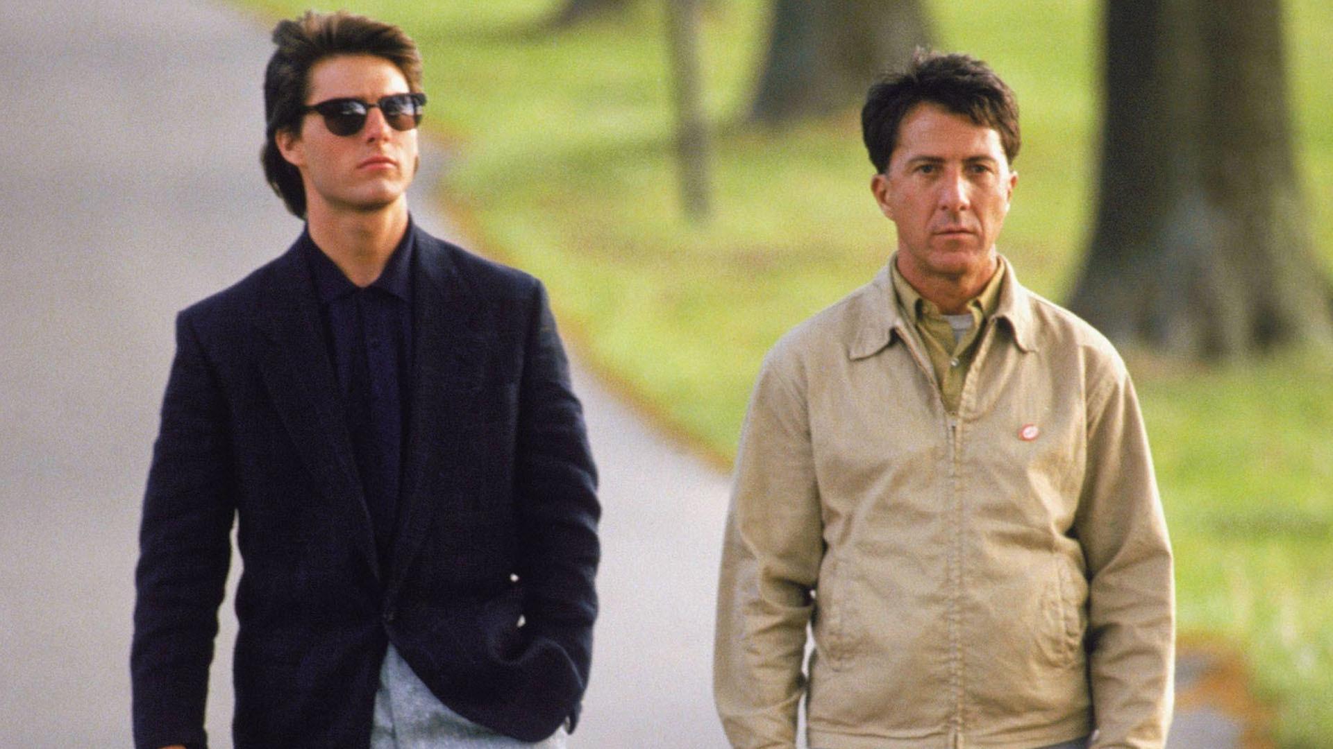 3cf9e8cc2c9aa oculos de sol Cavalheiro Jaqueta Tom Cruise Dustin Hoffman Homem chuva  terno Cuidados com a visão