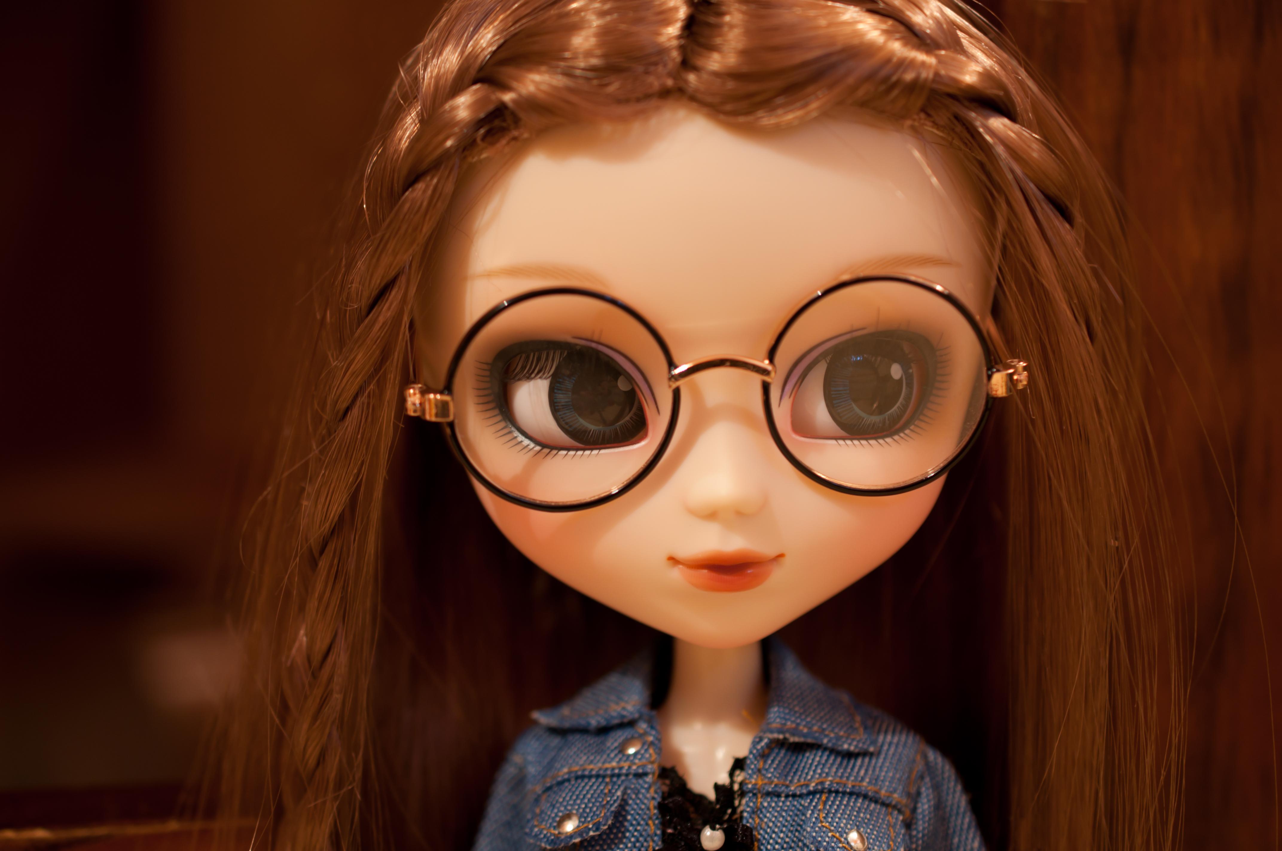 97e45812989d9 Papel de parede   oculos de sol, morena, óculos, Castanho, Tranças,  Brinquedo, boneca, longo, fofa, menina, figura, olho, Kawaii, Pullip,  Rebatizado, ...