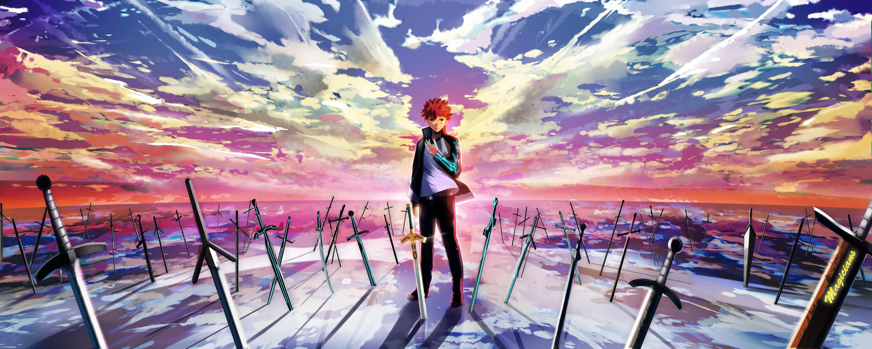 Fondos De Pantalla Luz De Sol Anime Noche Espada Noche