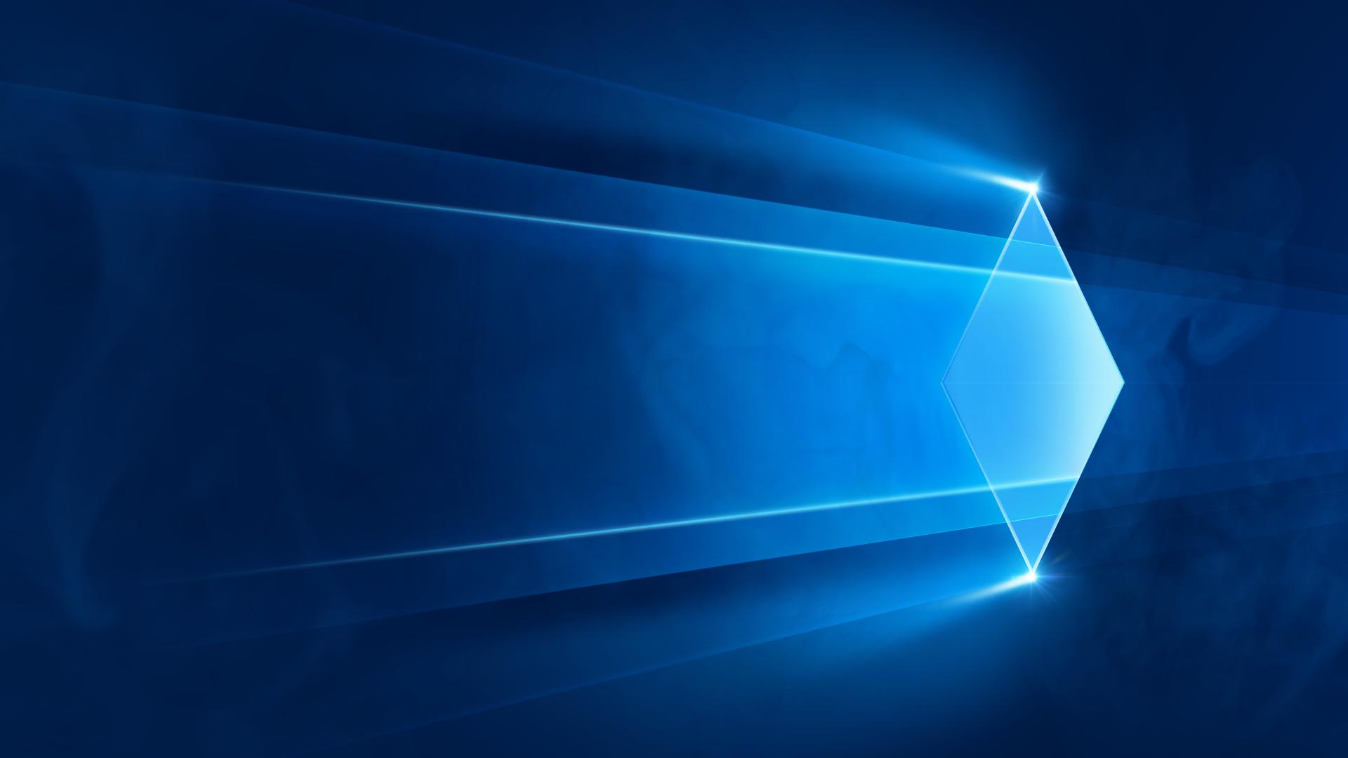Wallpaper Sunlight Blue Lens Flare Windows 10 Laser