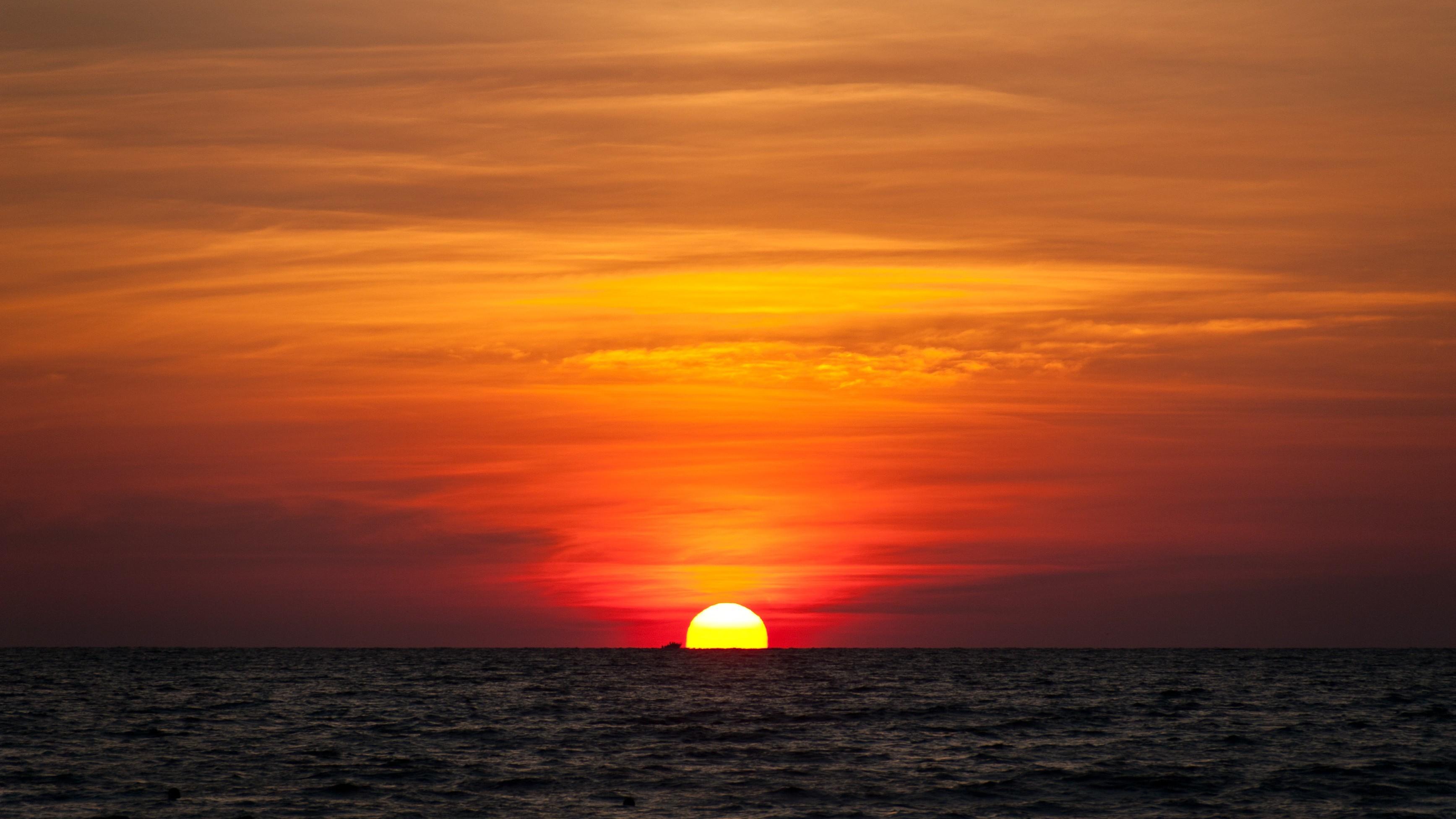 Картинка восход солнца на море