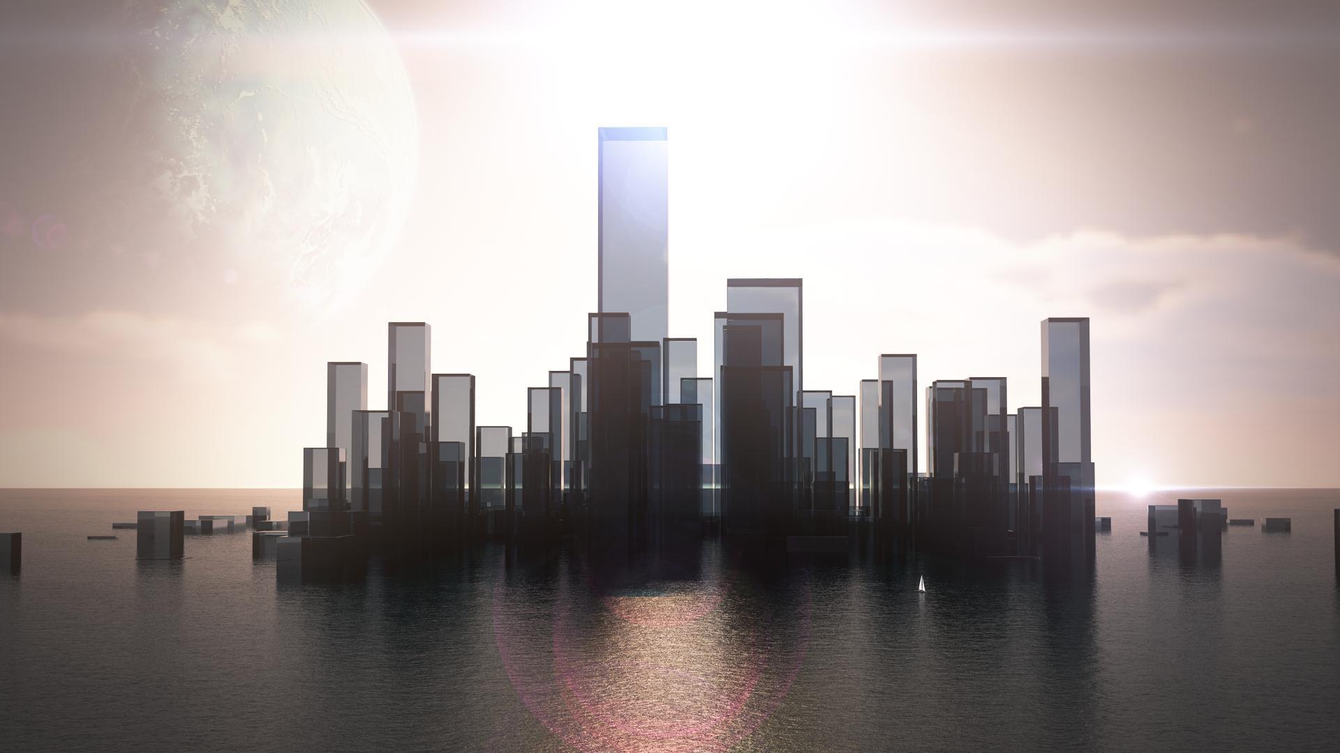 абстрактный город в картинках