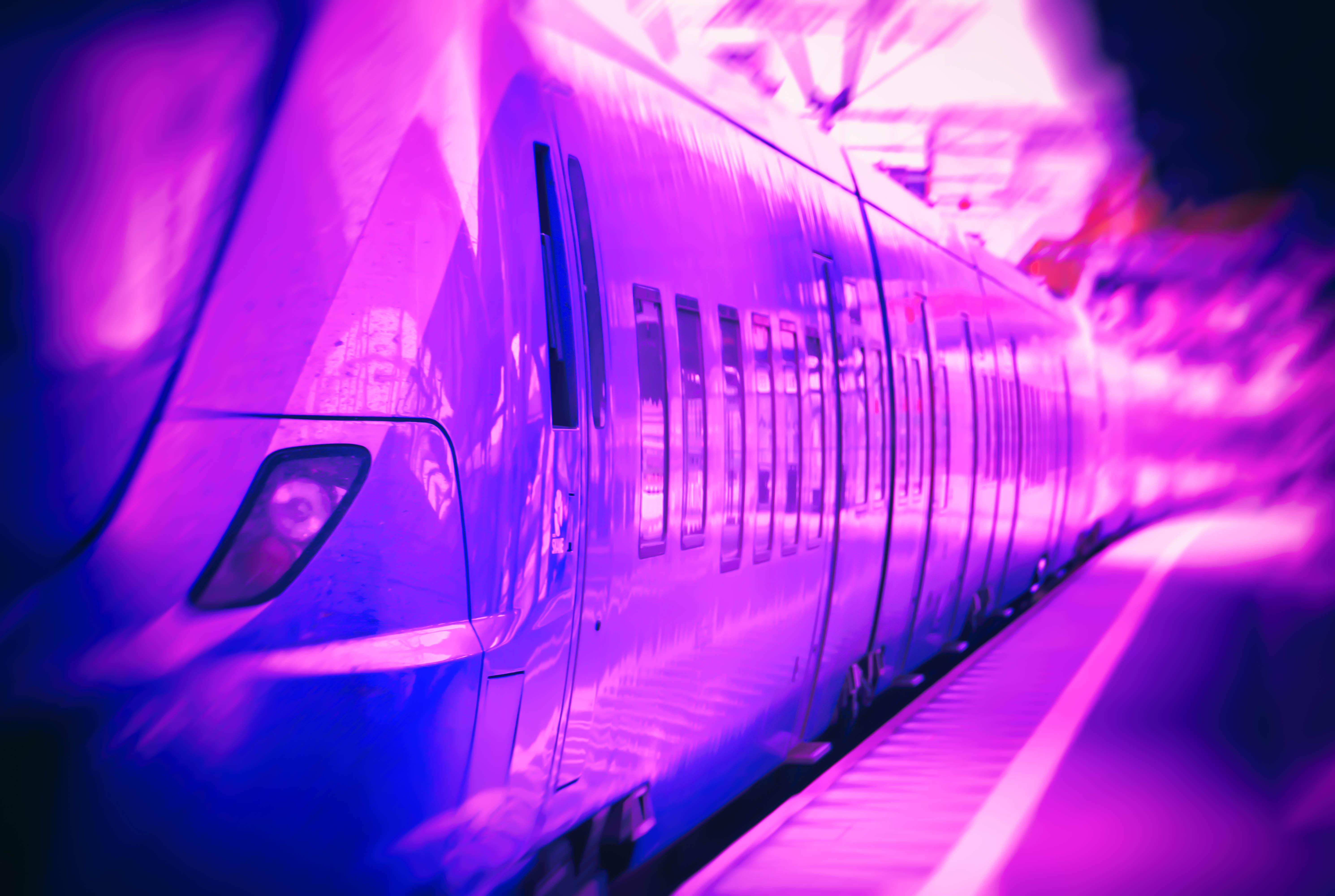 Wallpaper Sunlight City Night Reflection Purple Train Blue Electricity Sverige Light Color Depthoffield Dof Blur Sk Nel N Se Fotosondag