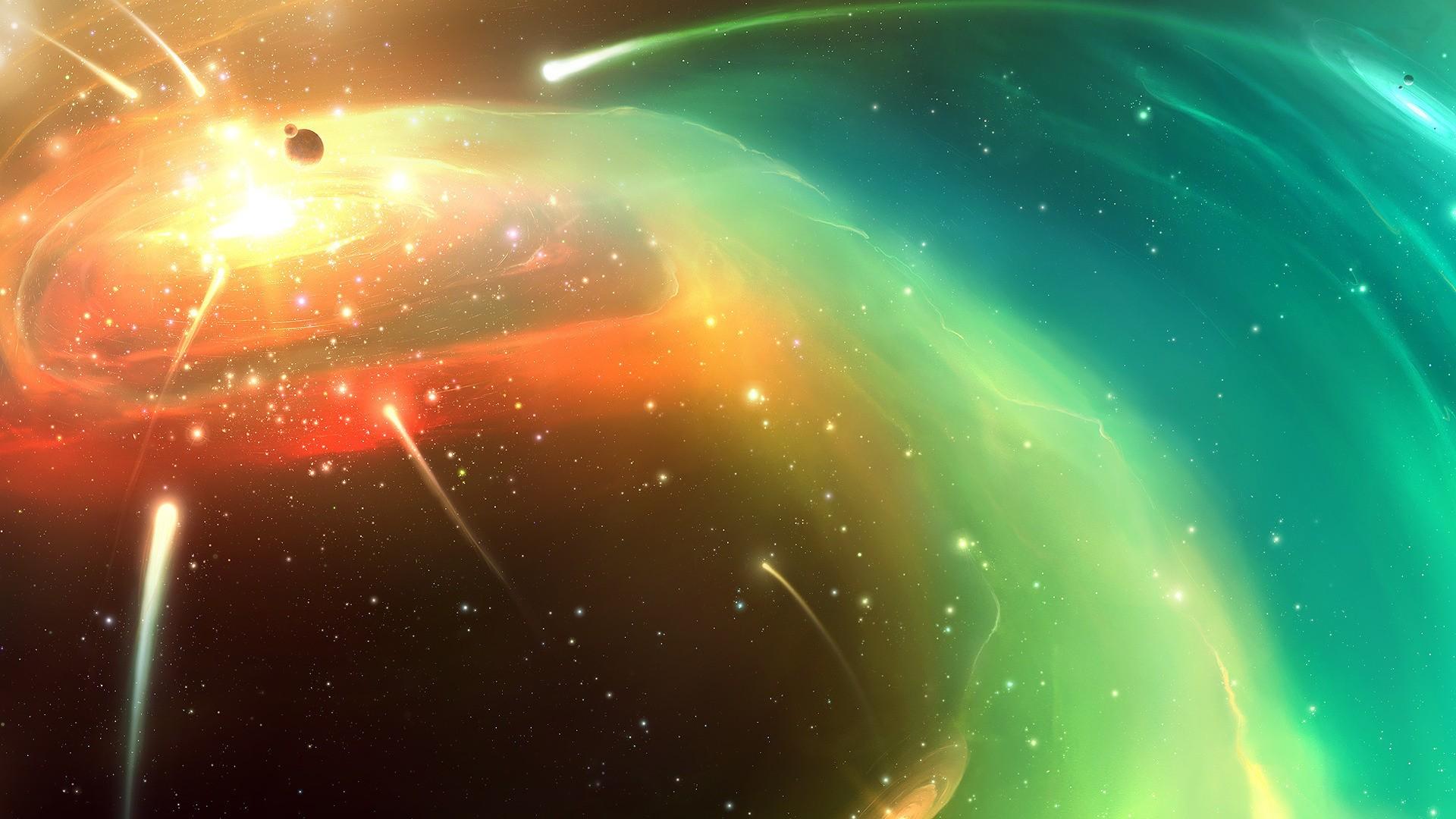 вселенная с кометами картинки этом стало известно