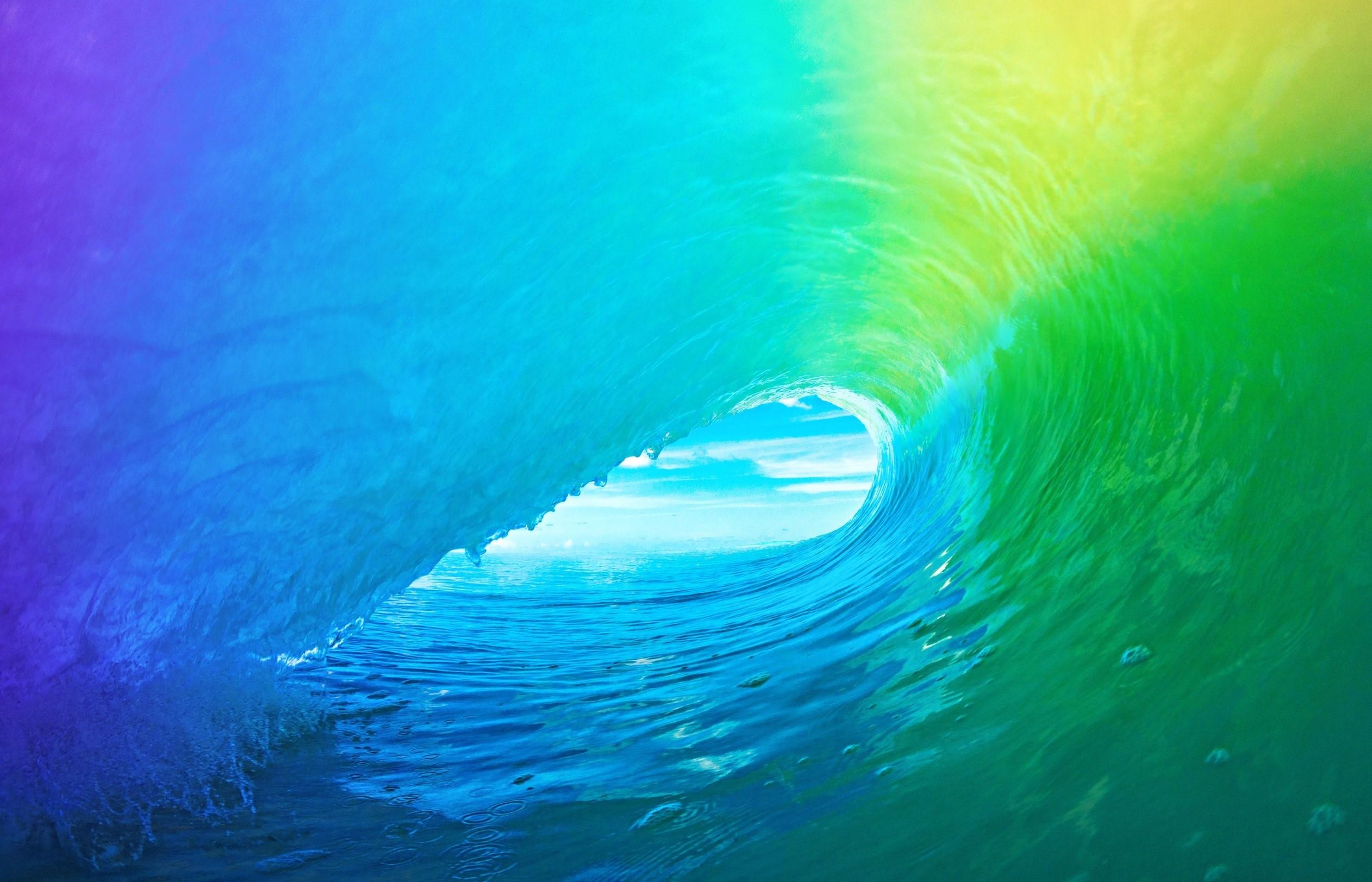 Sfondi Luce Del Sole Colorato Acqua Verde Blu Subacqueo I