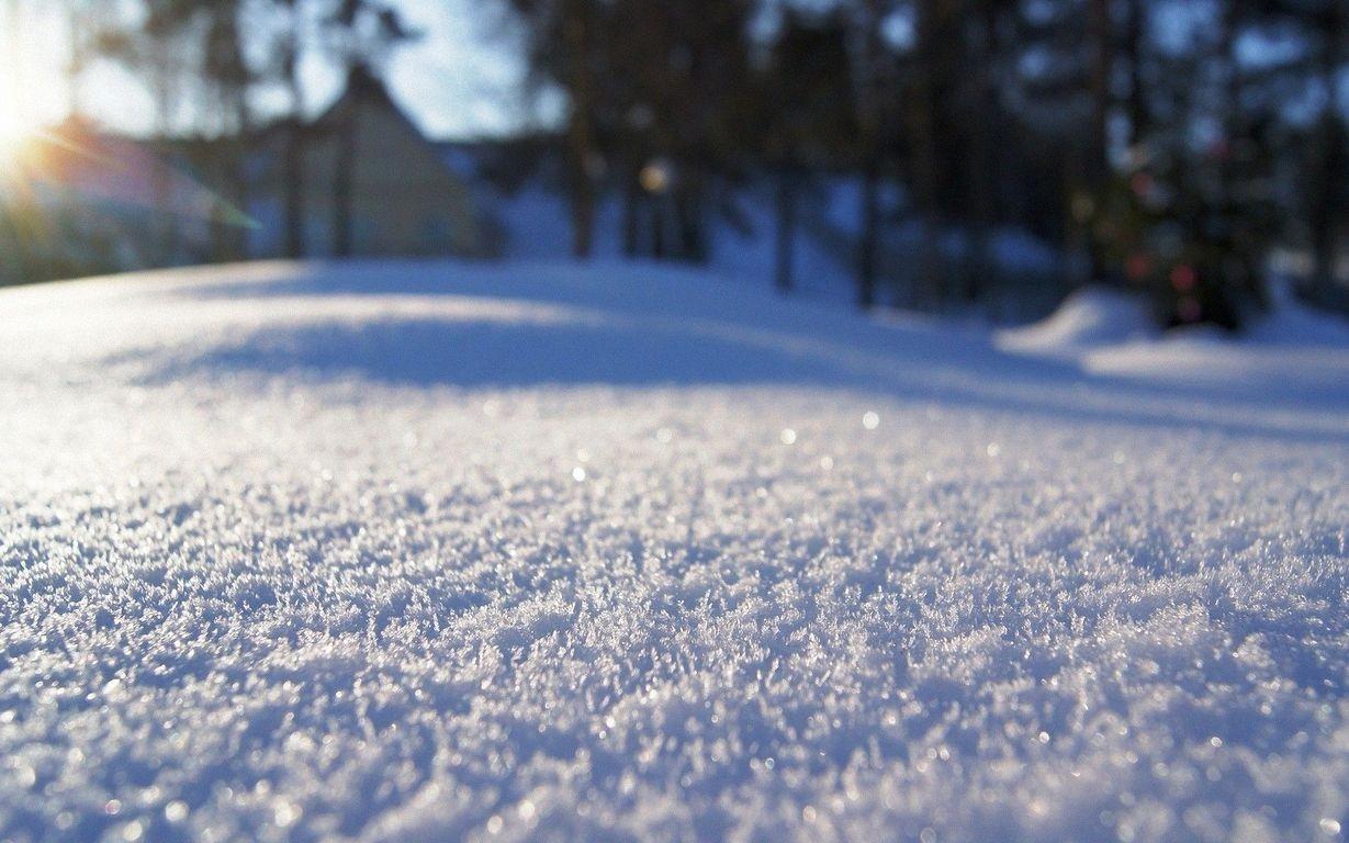 Картинки красивые со снегом показать, сделать надпись