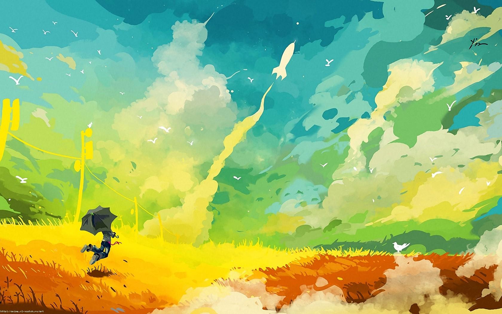 Masaüstü Güneş ışığı çizim Renkli Boyama Illüstrasyon Gökyüzü