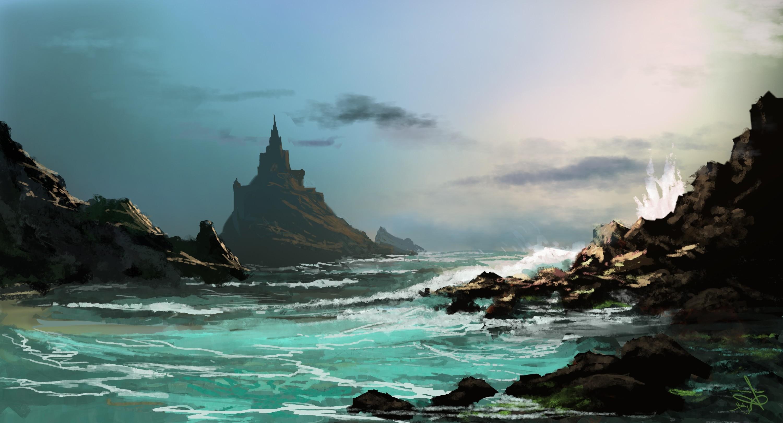 Sfondi Luce Del Sole Disegno Arte Digitale Fantasy Art Mare