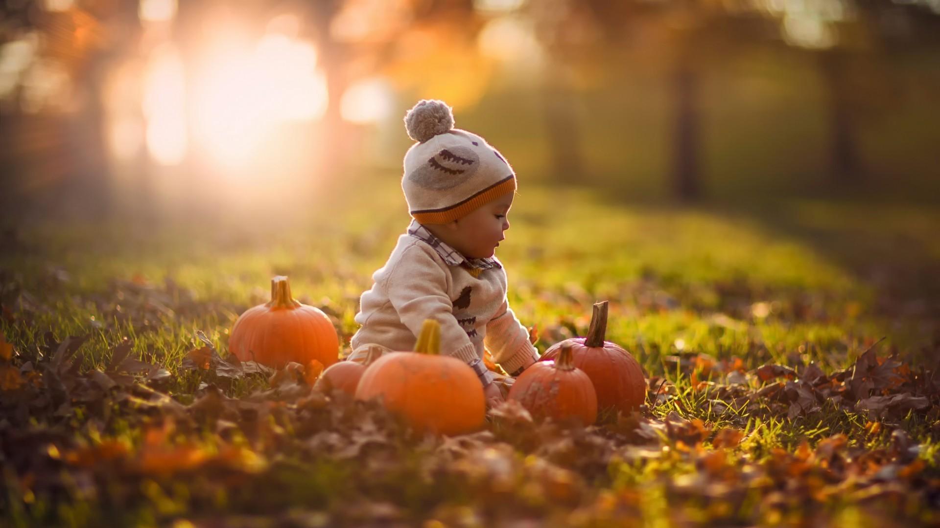 изделия картинки на рабочий стол осень с детьми отличается приятными цветами