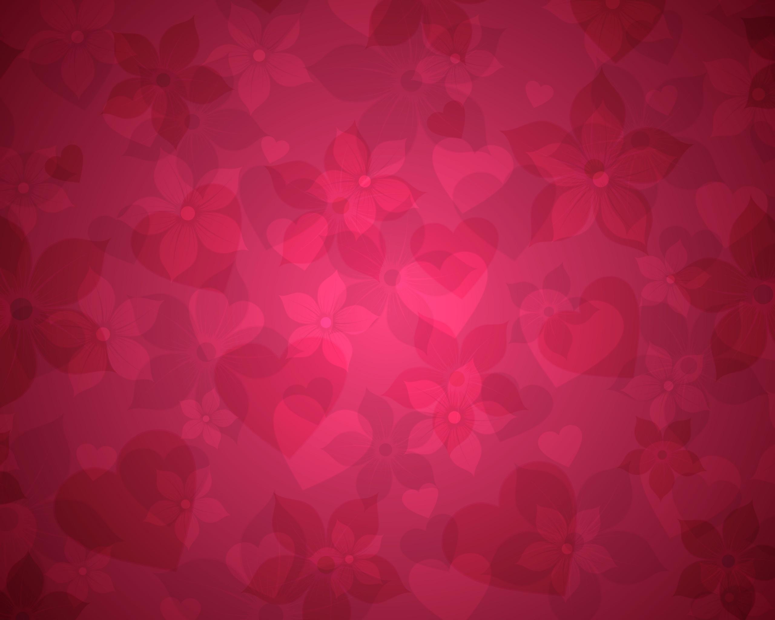 sunlight flowers heart red pattern texture circle pink flower hearts shape line petal computer wallpaper font