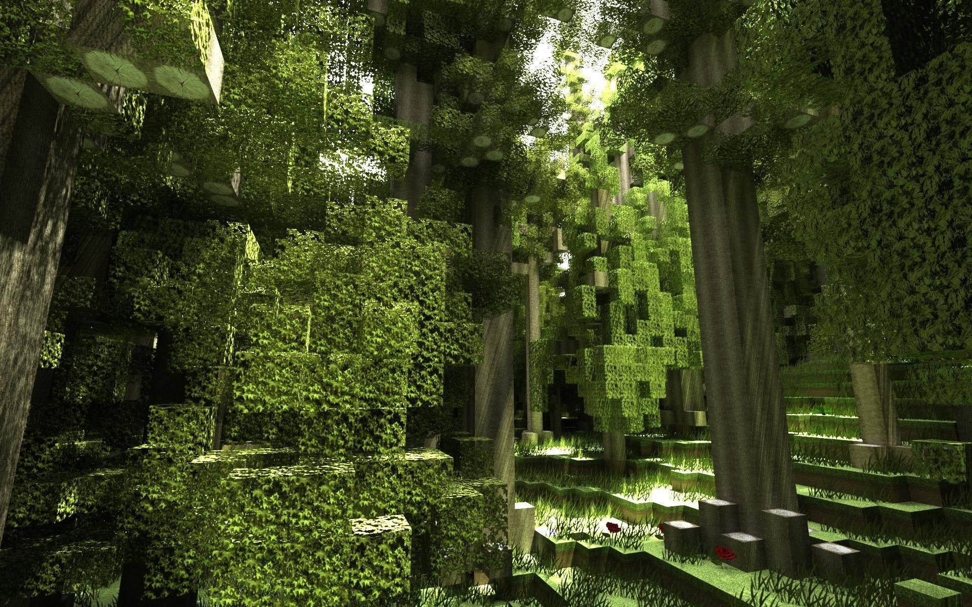 Wonderful Wallpaper Minecraft Forest - sunlight-forest-garden-nature-render-park-Minecraft-green-jungle-rainforest-backyard-tree-leaf-flower-plant-1920x1200-px-woodland-habitat-natural-environment-botany-woody-plant-ecosystem-biome-shrub-screenshots-567908  2018_139337.jpg