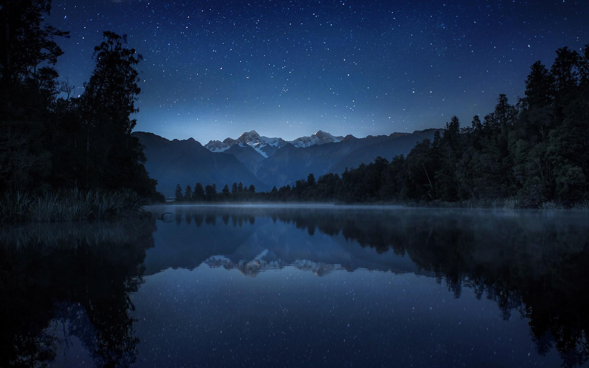 картинки лесное озеро ночью утка обыкновенная