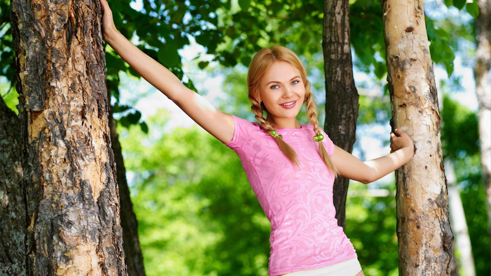 Фото картинки юных девочек