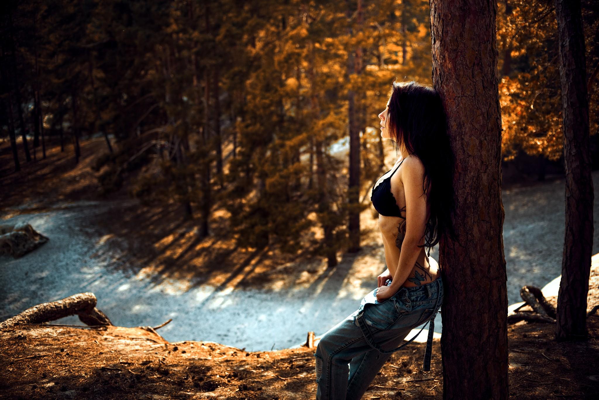 Wallpaper : sunlight, forest, women outdoors, 500px, model