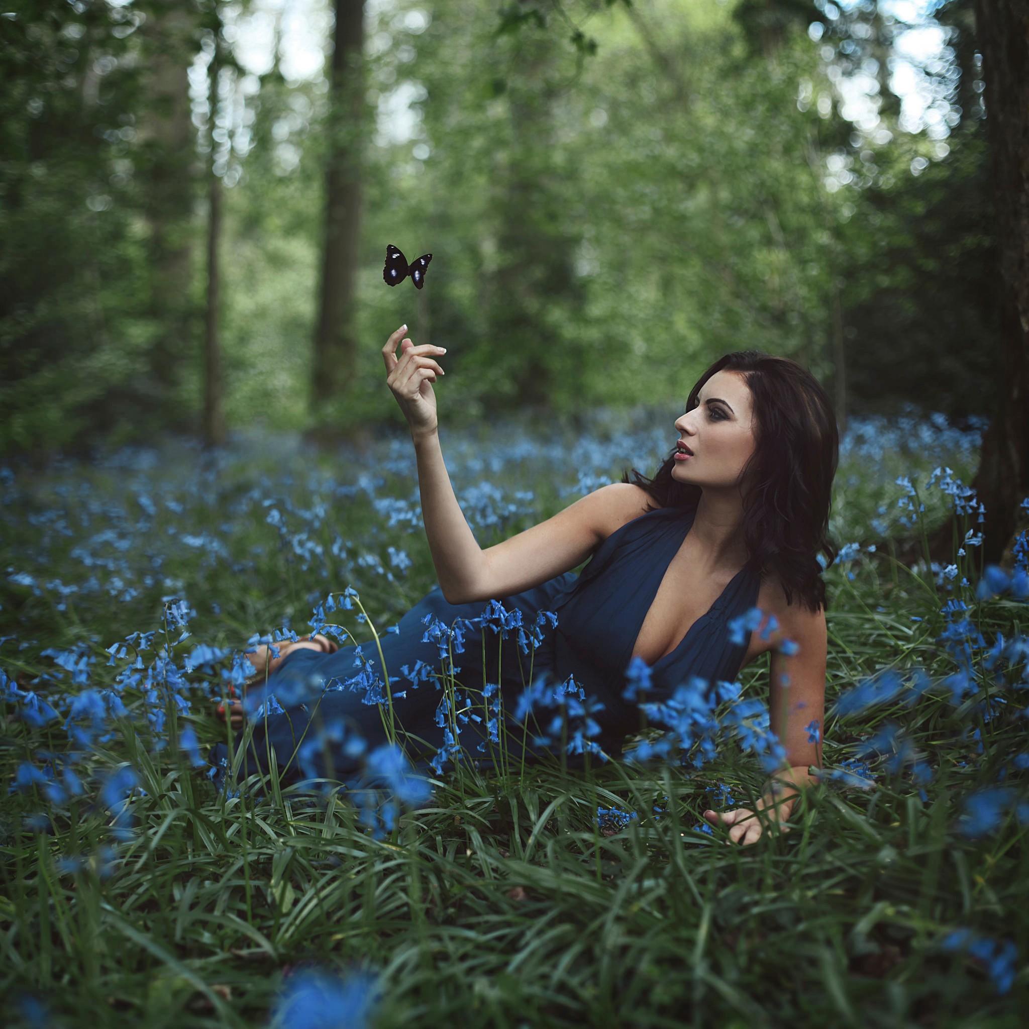 Free Images : girl, woman, petal, photo, model, spring ...