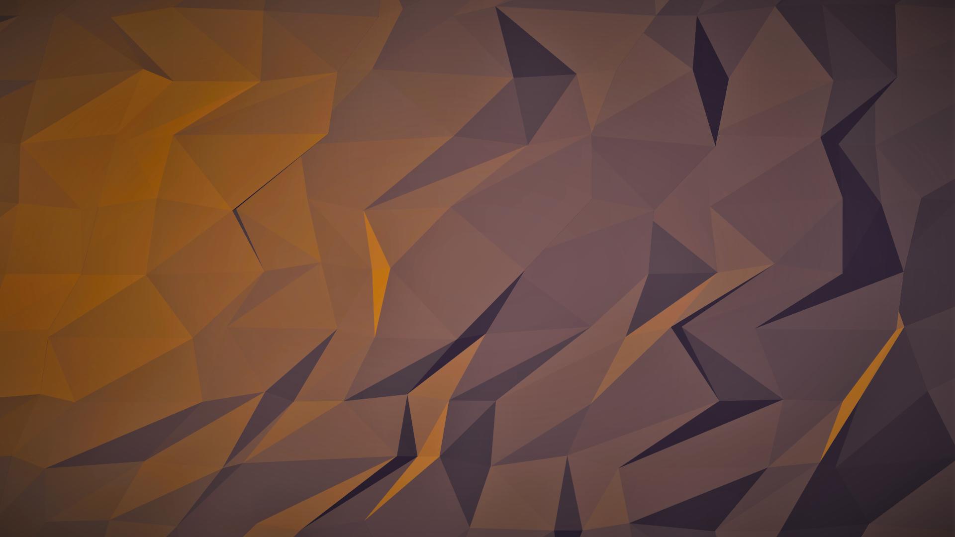 Sunlight Illustration Dark Abstract 3D Reflection Wall Symmetry Yellow Brown Triangle Pattern Orange Texture Circle ART