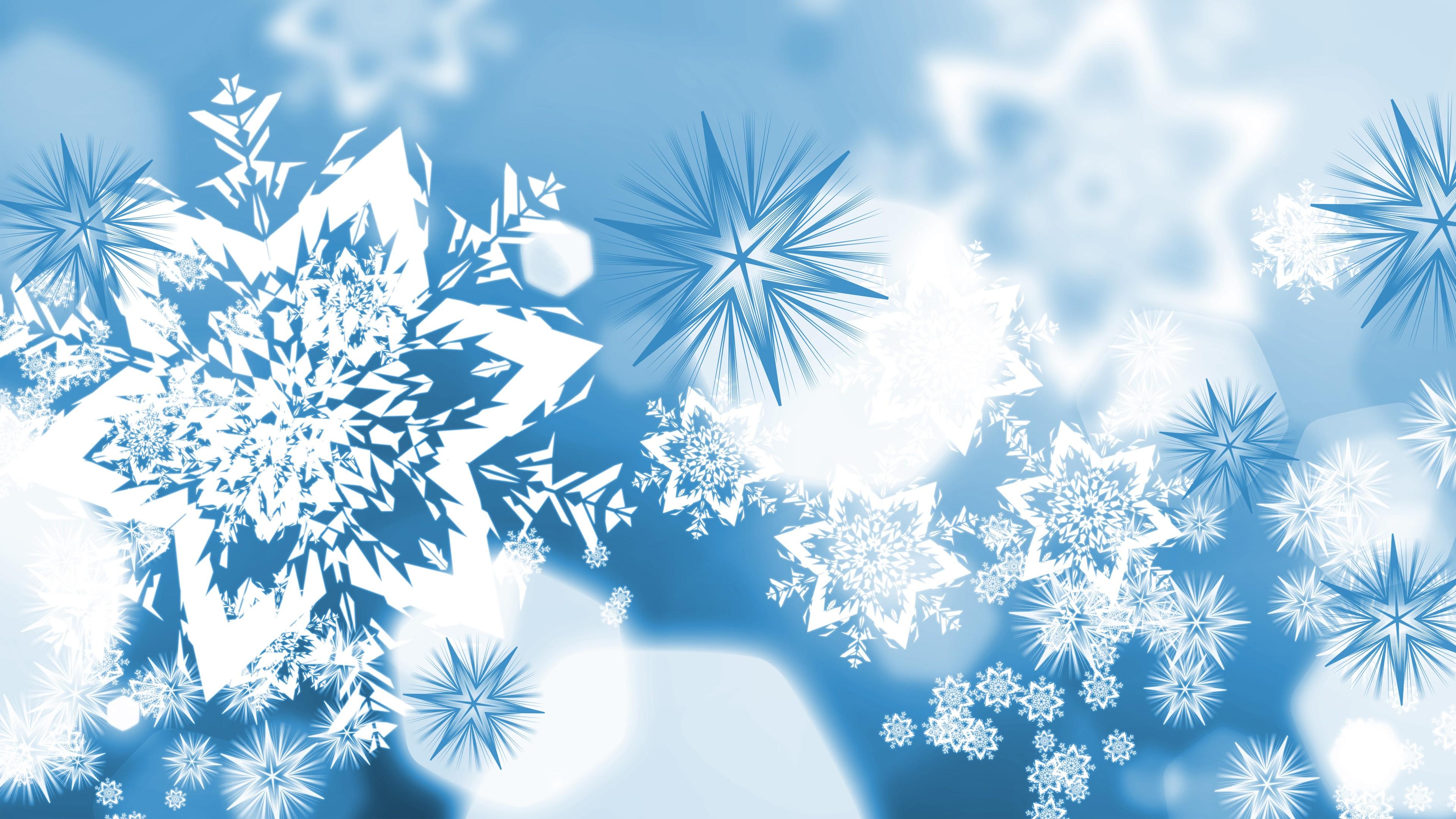 открытка зима снежинка качественные снимки