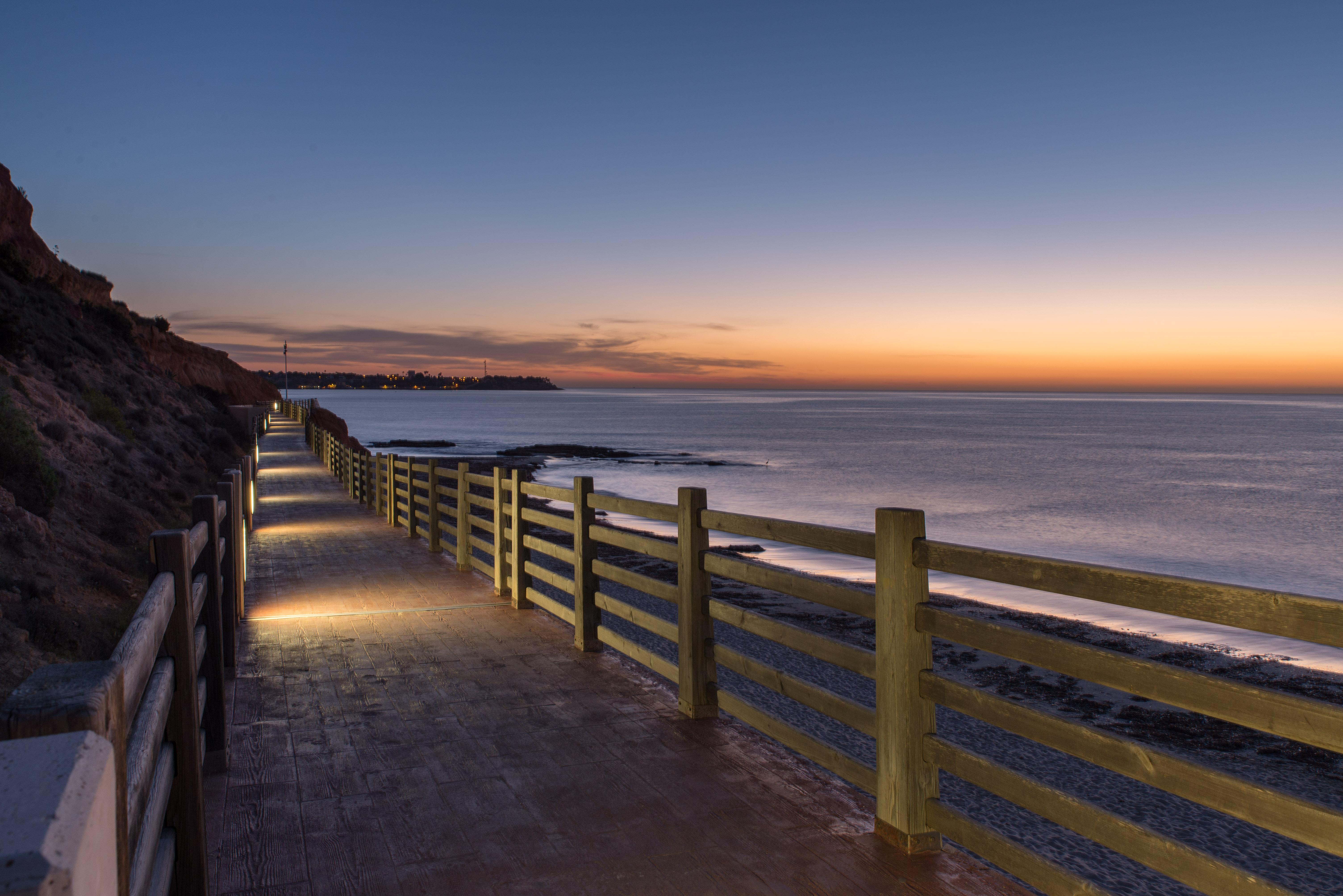 Wallpaper : sunlight, landscape, 500px, sunset, sea, night