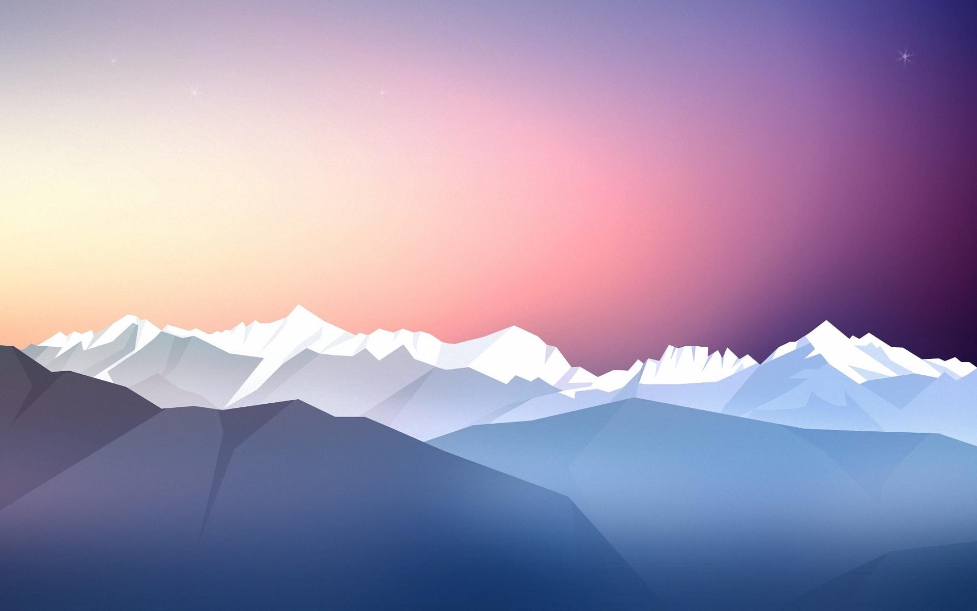 Wallpaper Sunlight Landscape Abstract Sky Artwork Sunrise