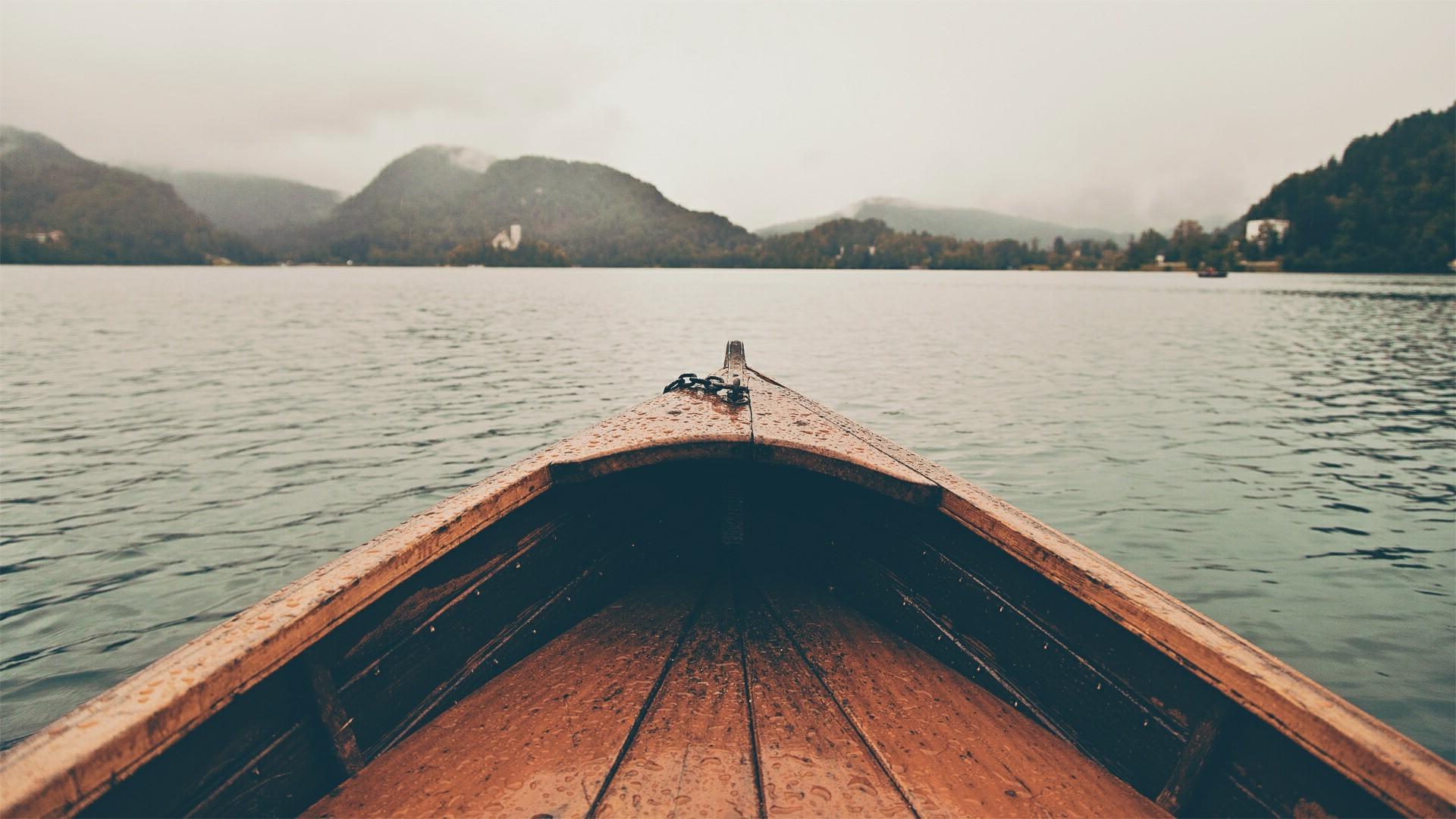 Wallpaper Sunlight Landscape Boat Sea Lake Reflection