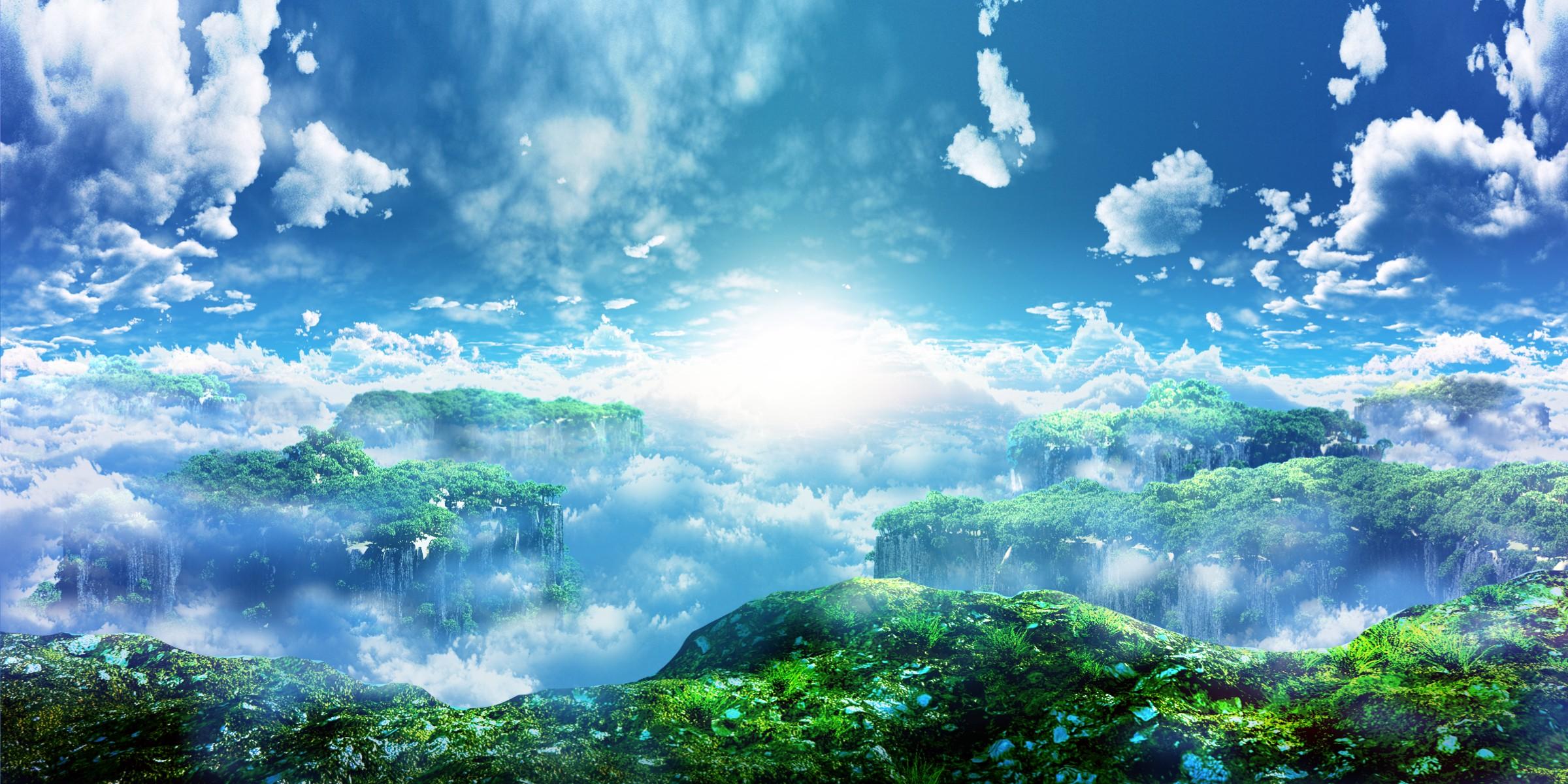 сад в облаках картинки взрослых