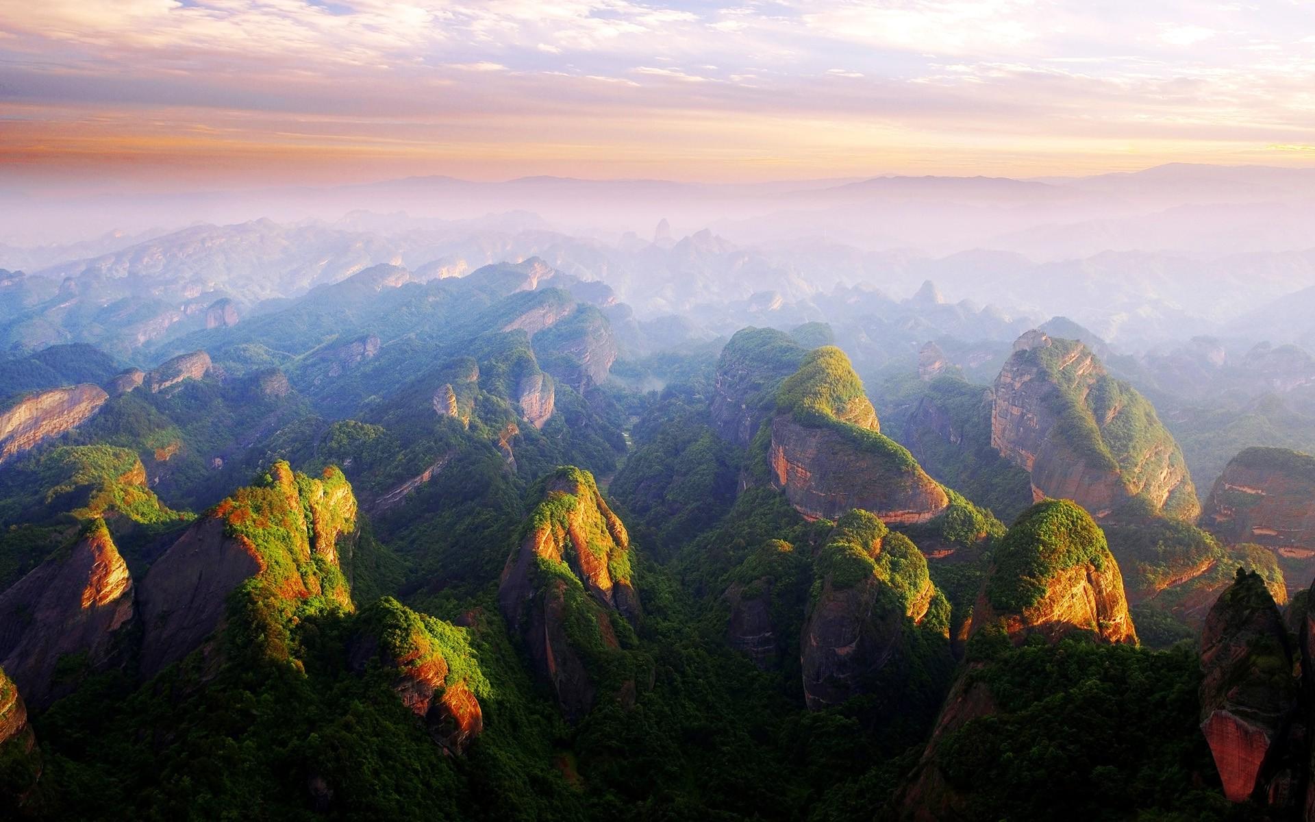 Красивые горы в китае фото пригласил