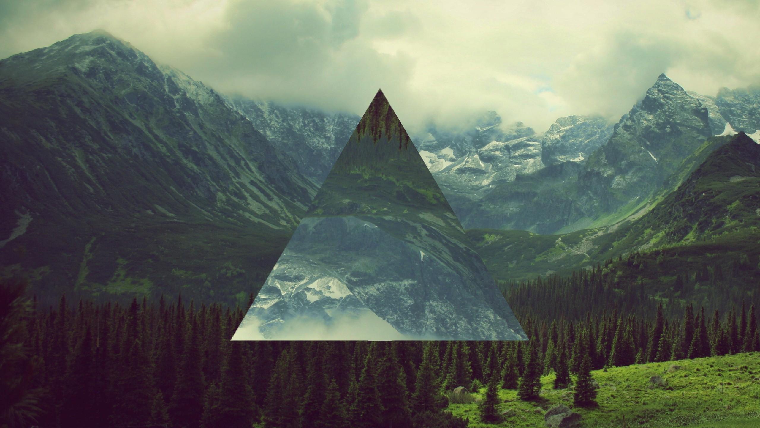 треугольник на фото нарезаем компонент средними