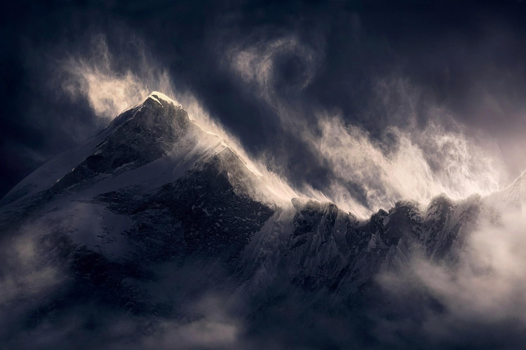 ветер в горах фото там было